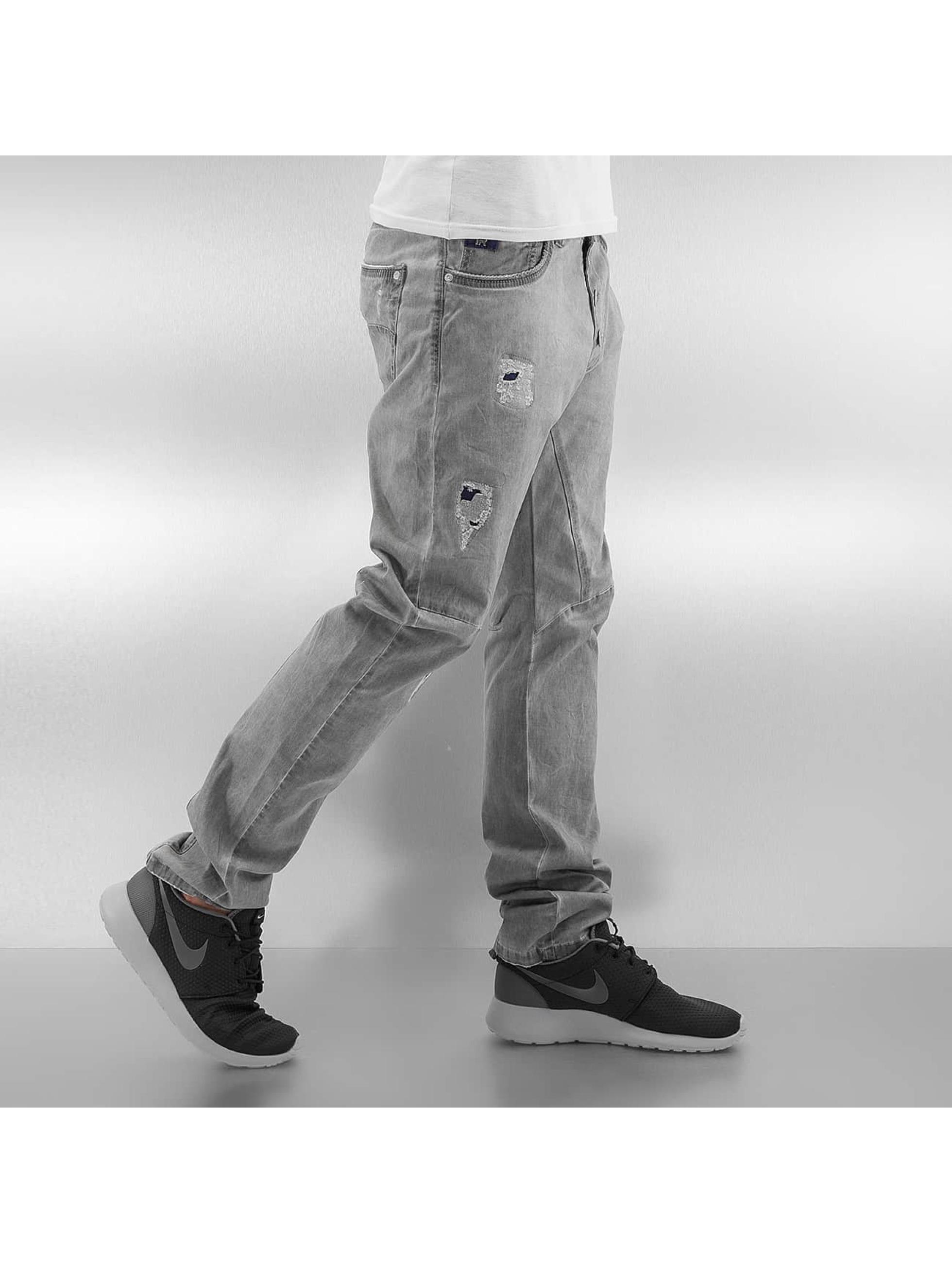 Red Bridge Straight Fit Jeans Used grau