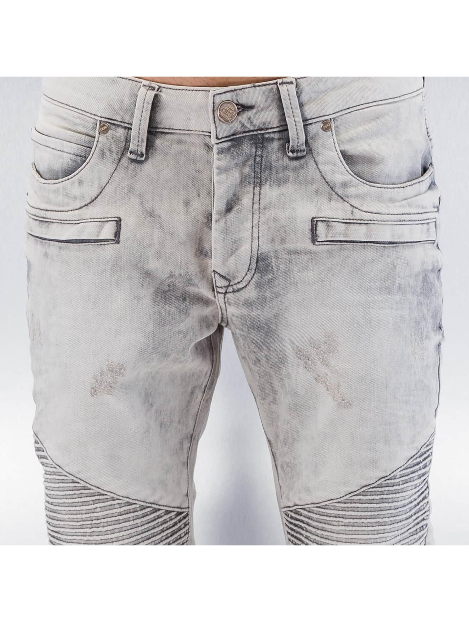 Red Bridge Straight Fit Jeans Dirrty Biker gray