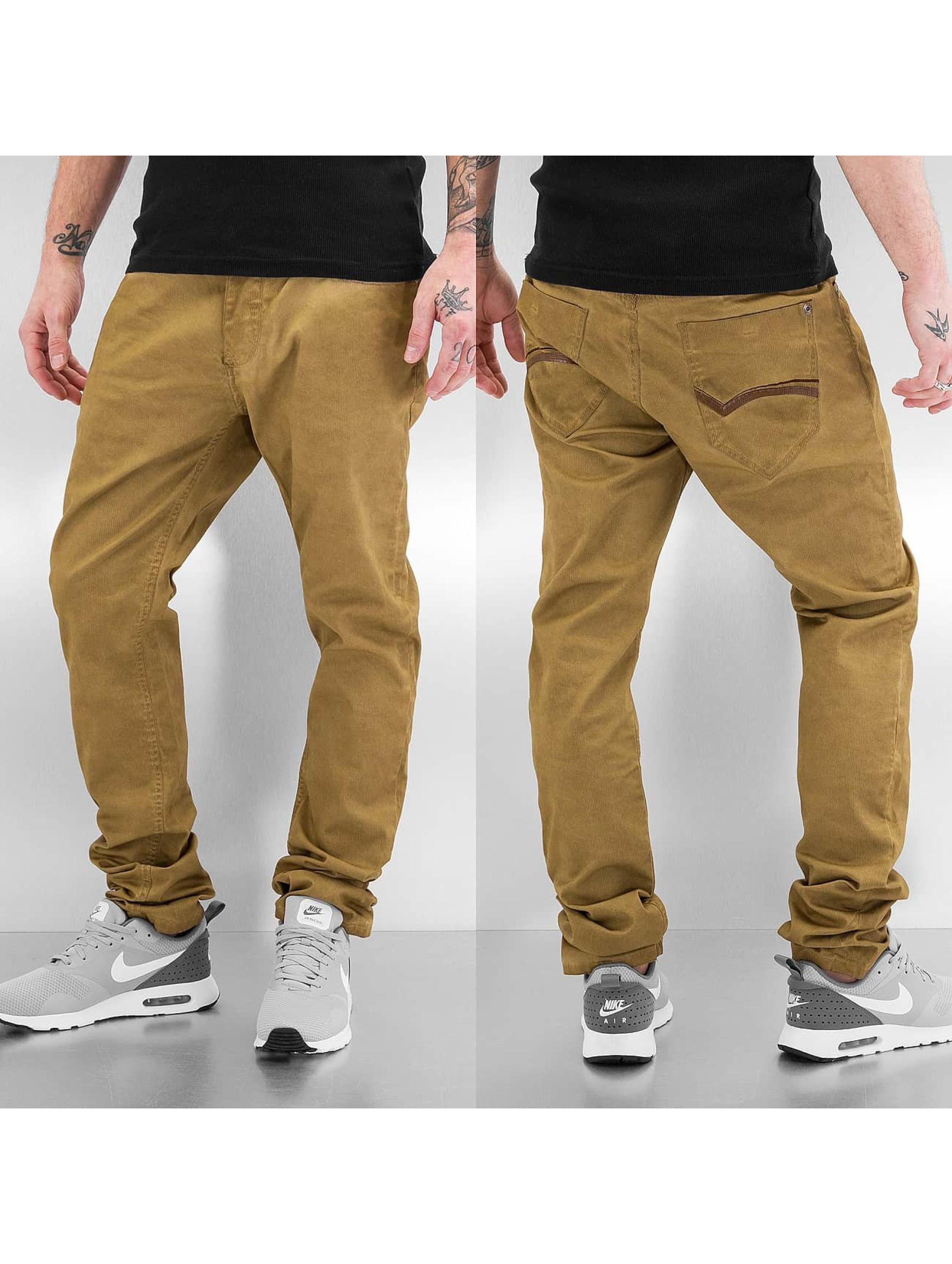 Red Bridge Straight fit jeans Fresno khaki