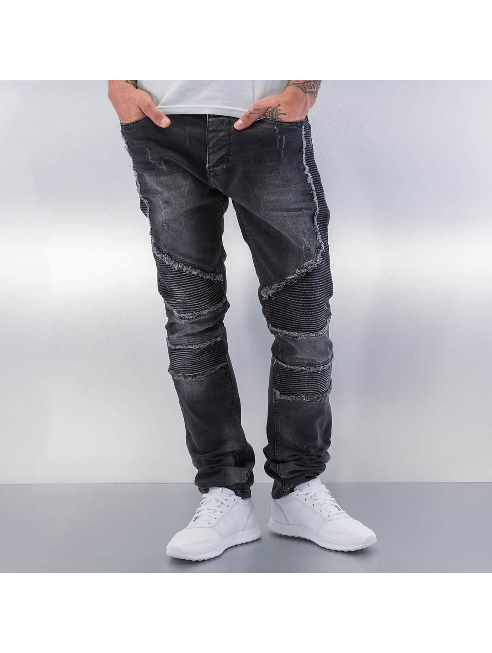 Red Bridge Straight fit jeans Crazy zwart