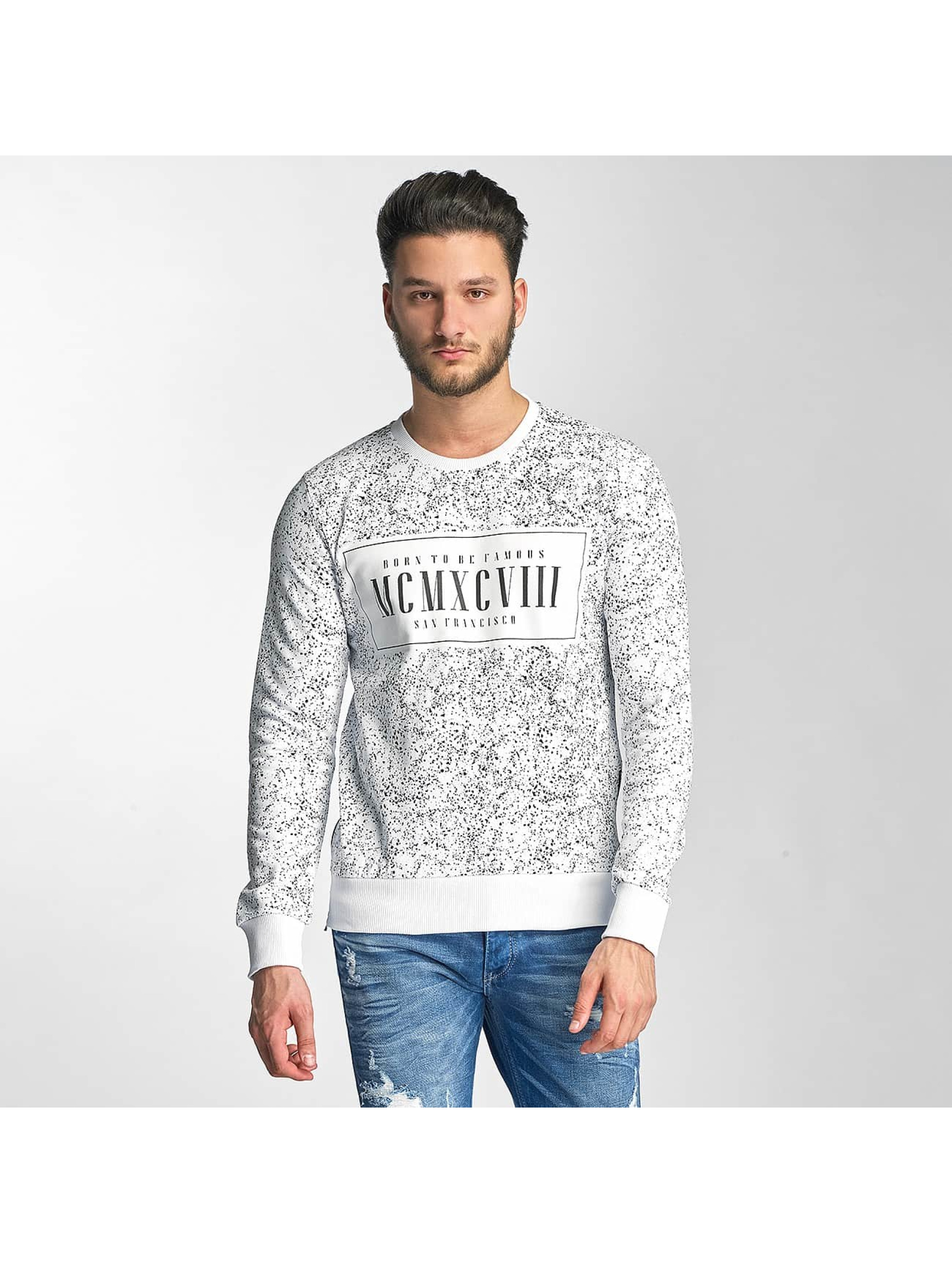 Red Bridge Sweat & Pull Born To Be Famous blanc