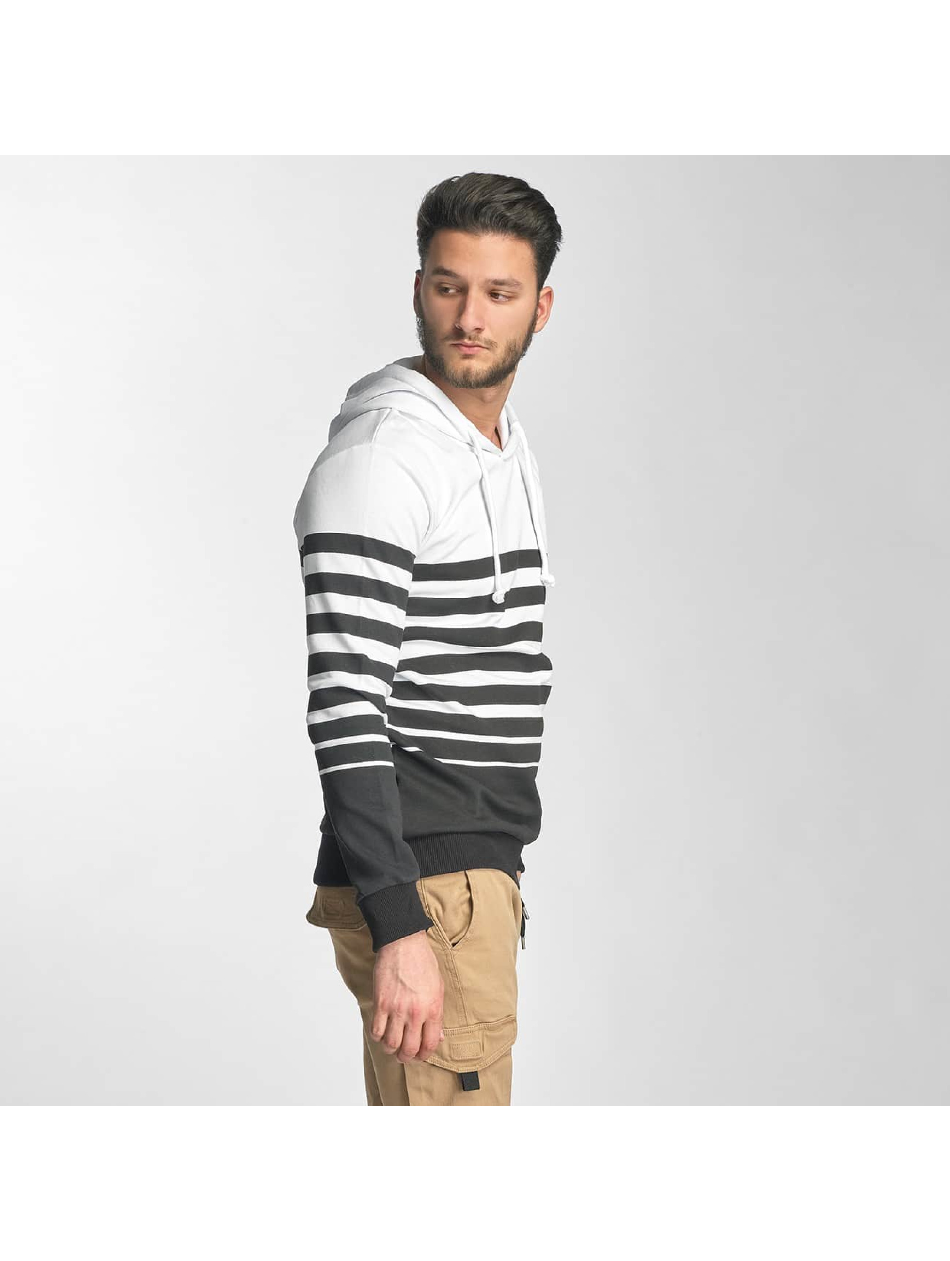 Red Bridge Sweat capuche Young Stripes blanc