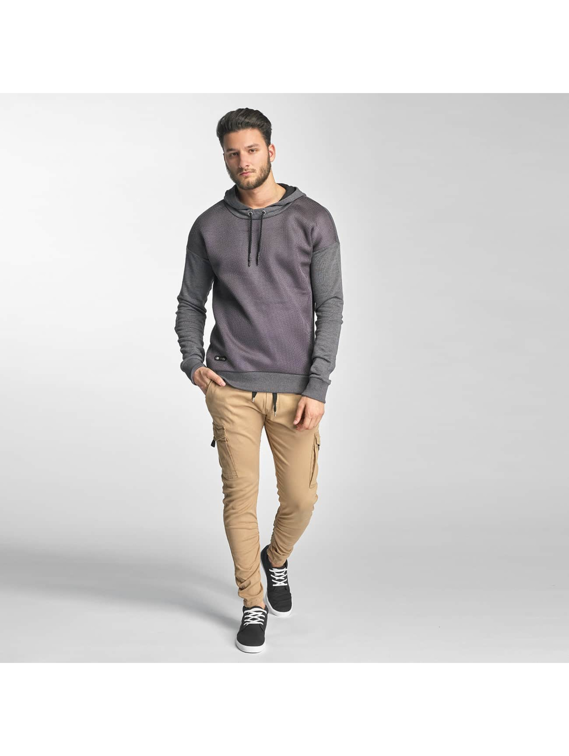 Red Bridge Sweat capuche Carbon Network gris