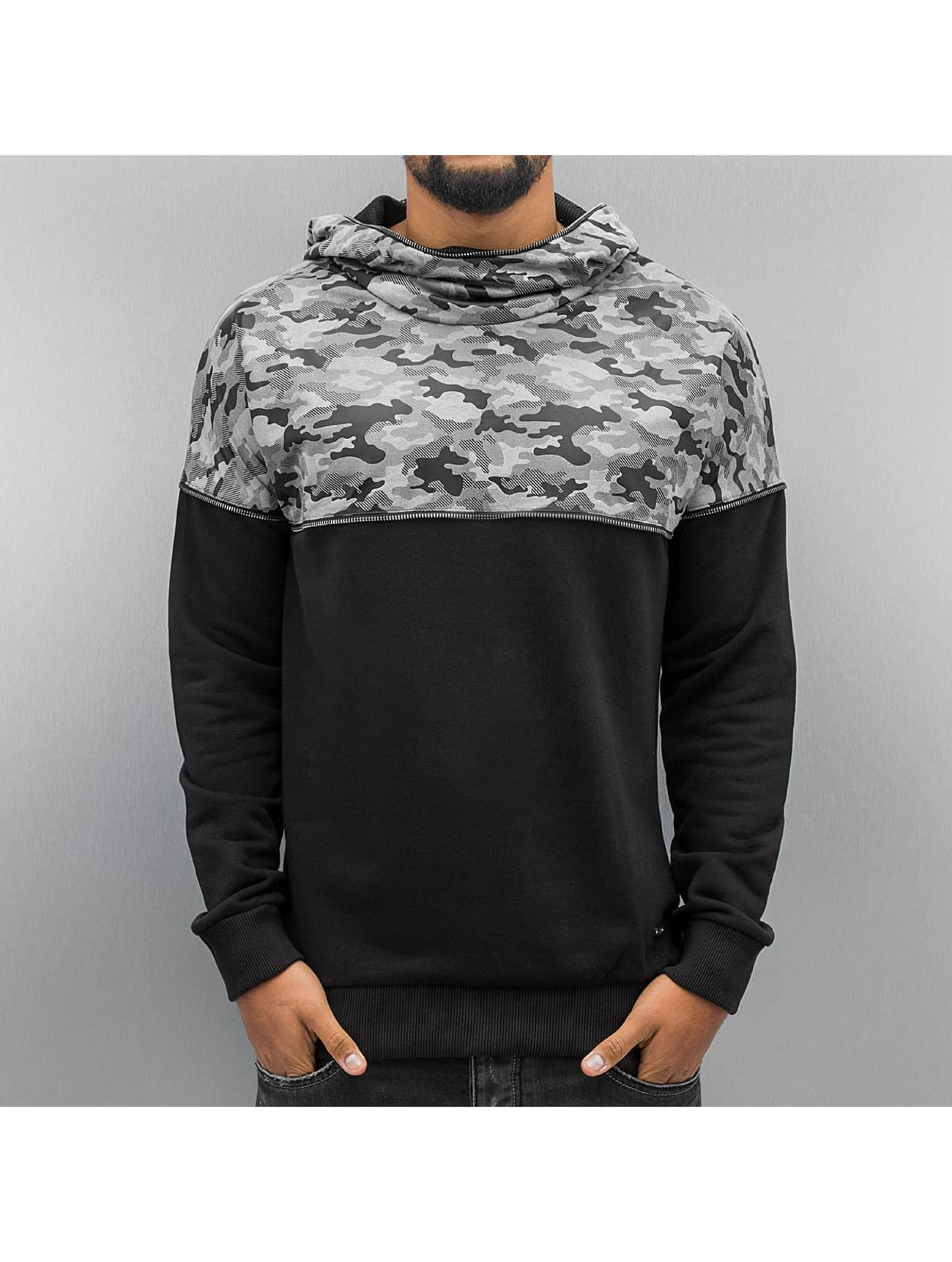 Red Bridge Sweat capuche Camo noir