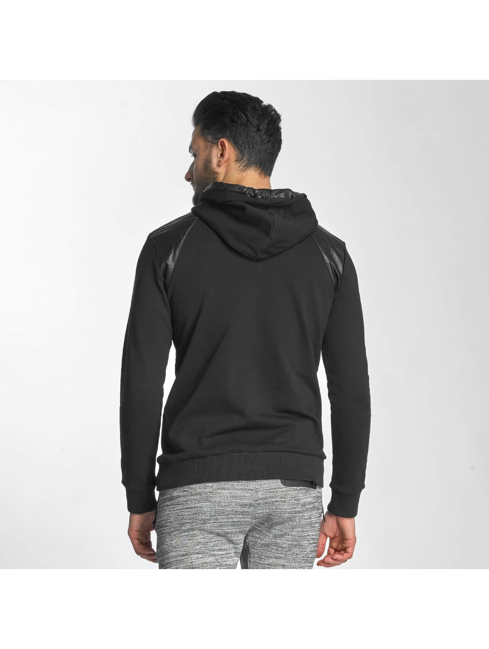 Red Bridge Sweat capuche PU noir