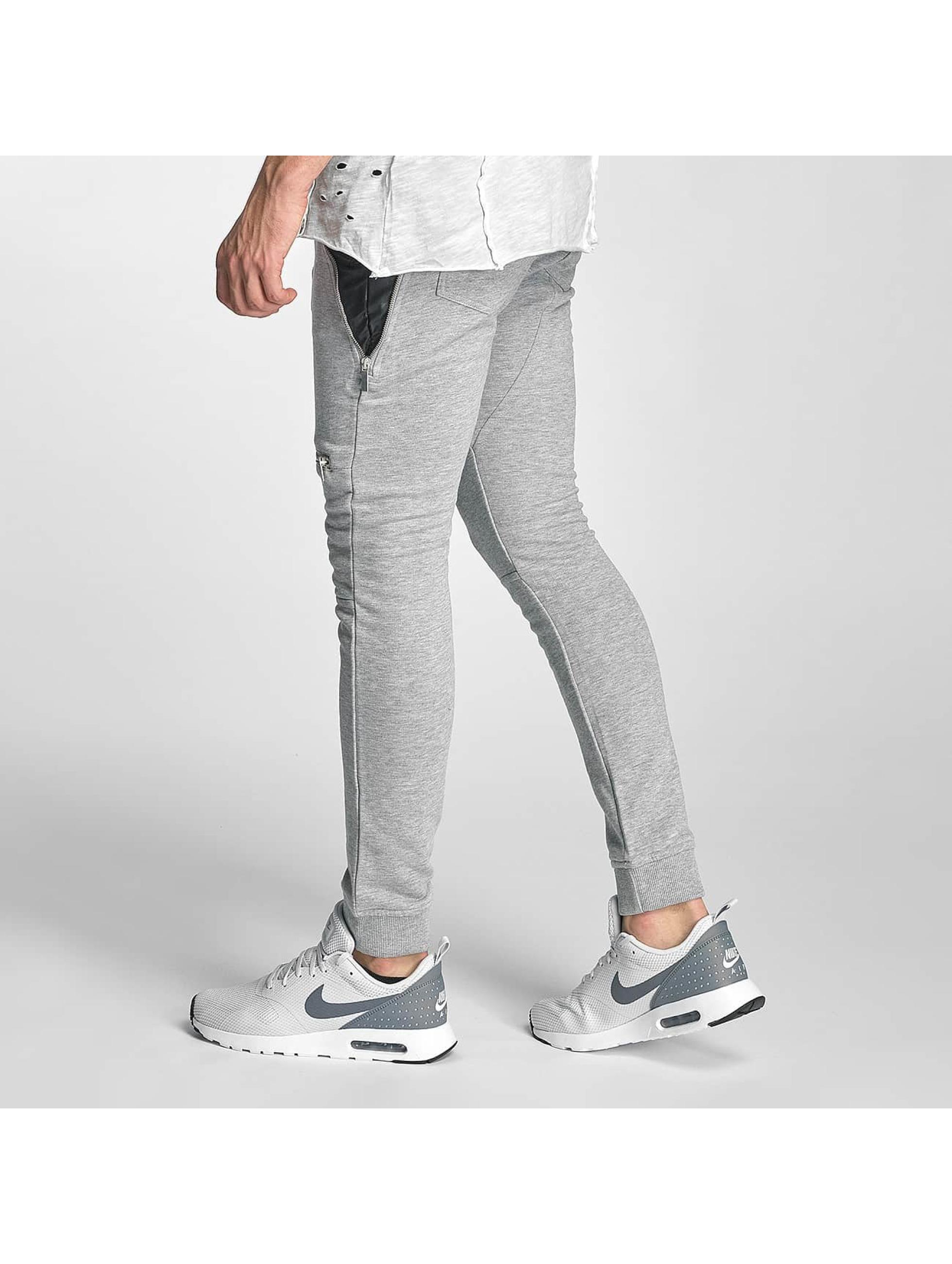 Red Bridge Sweat Pant Zipped gray