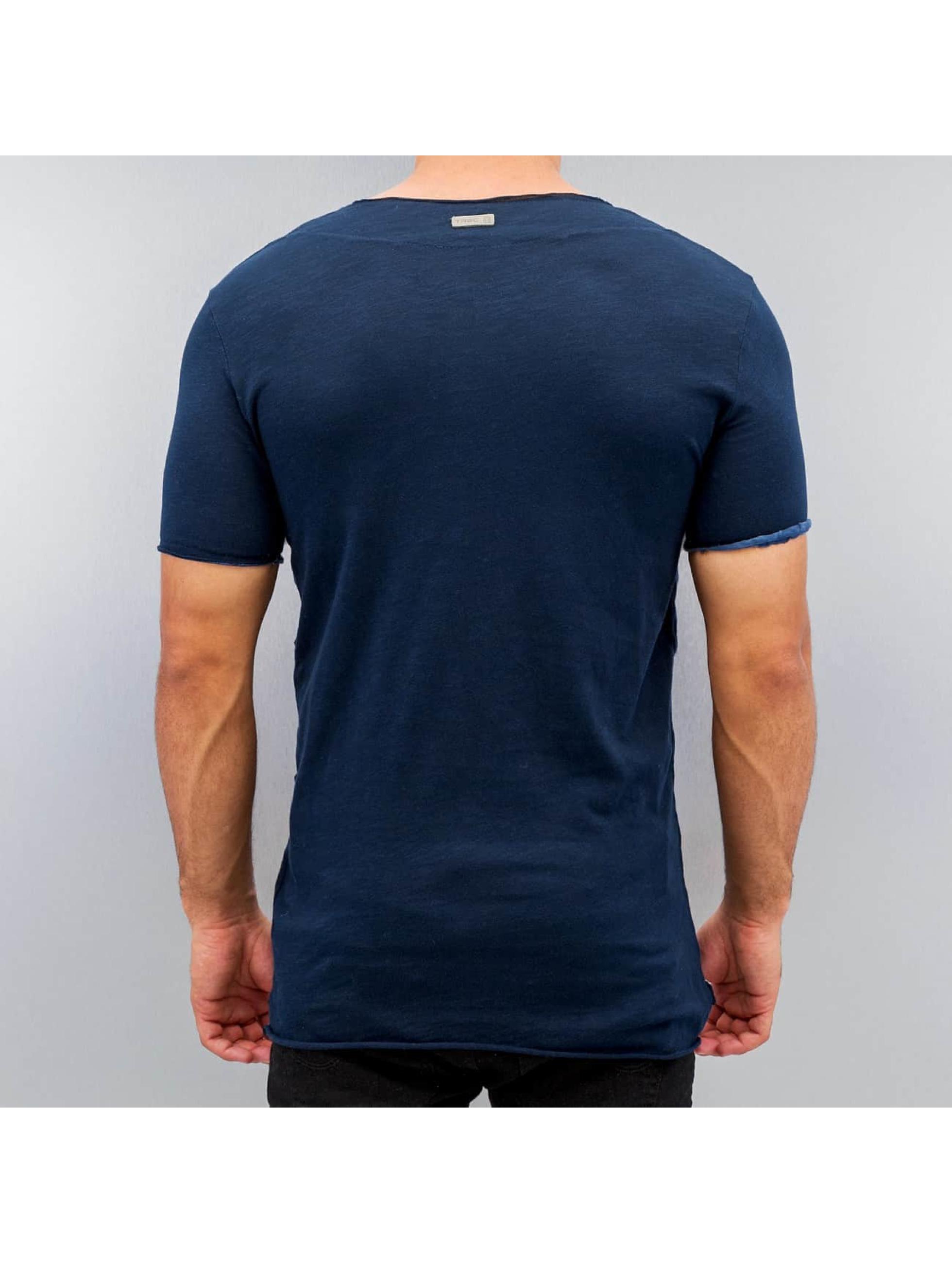 Red Bridge T-shirt Destroyed Vintage blå