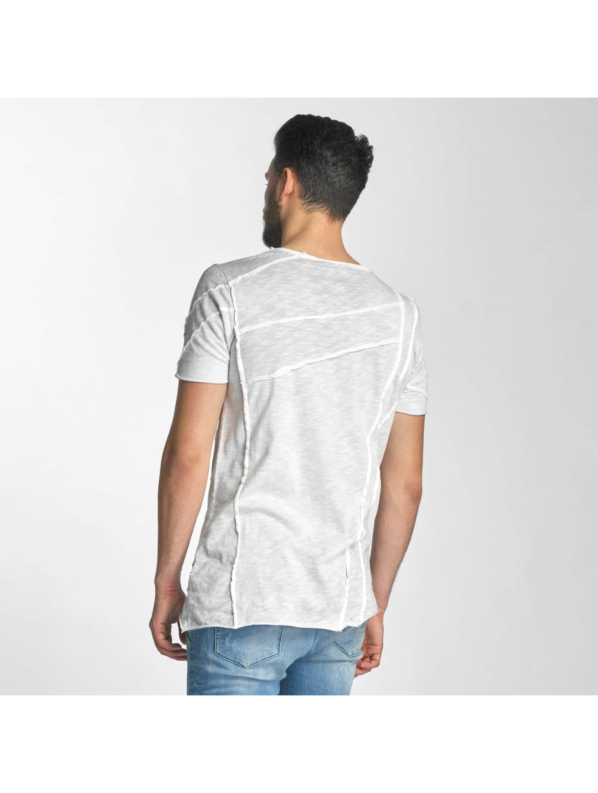 Red Bridge T-Shirt Patchwork grey