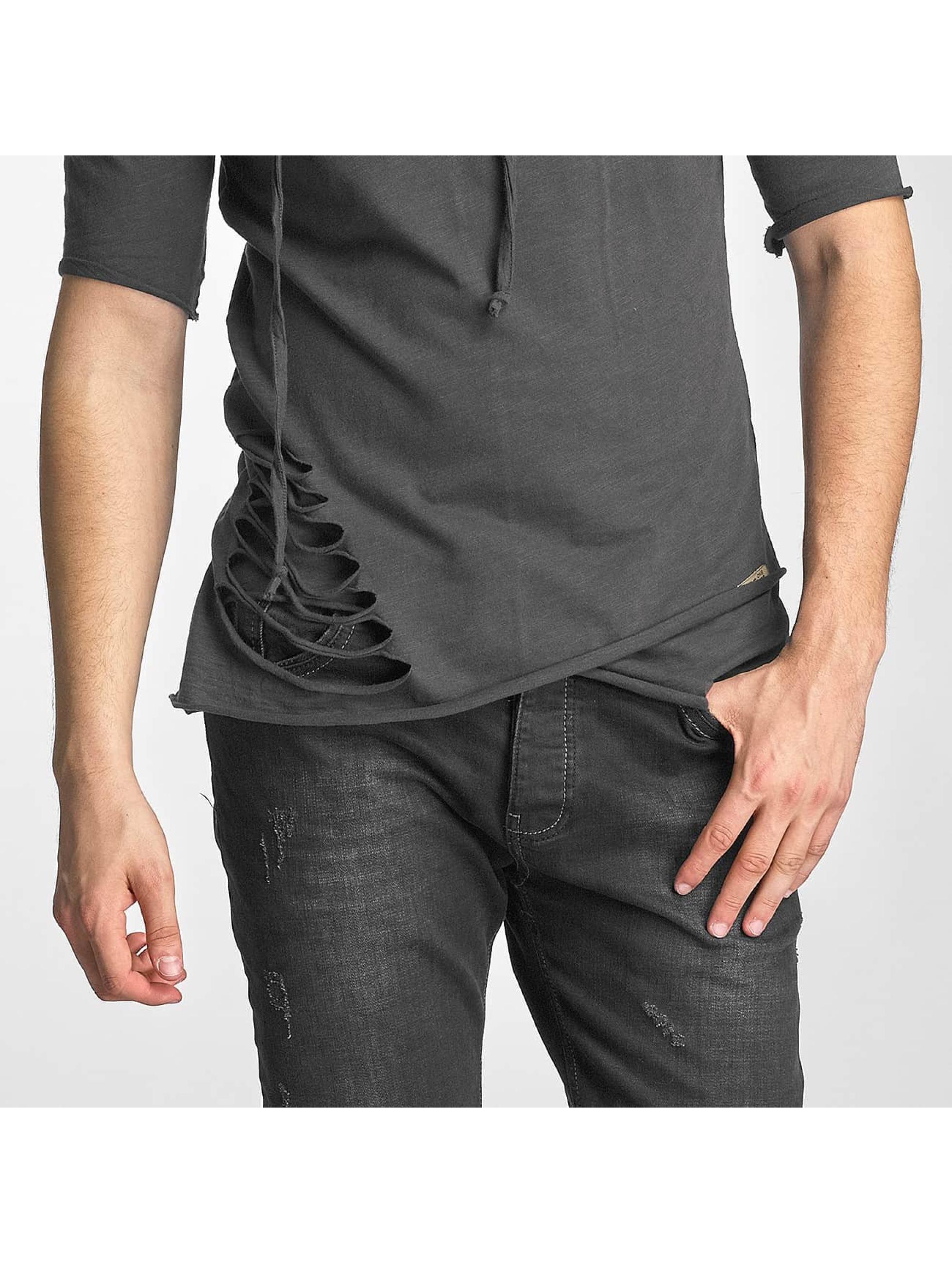 Red Bridge T-Shirt Asymmetric grey