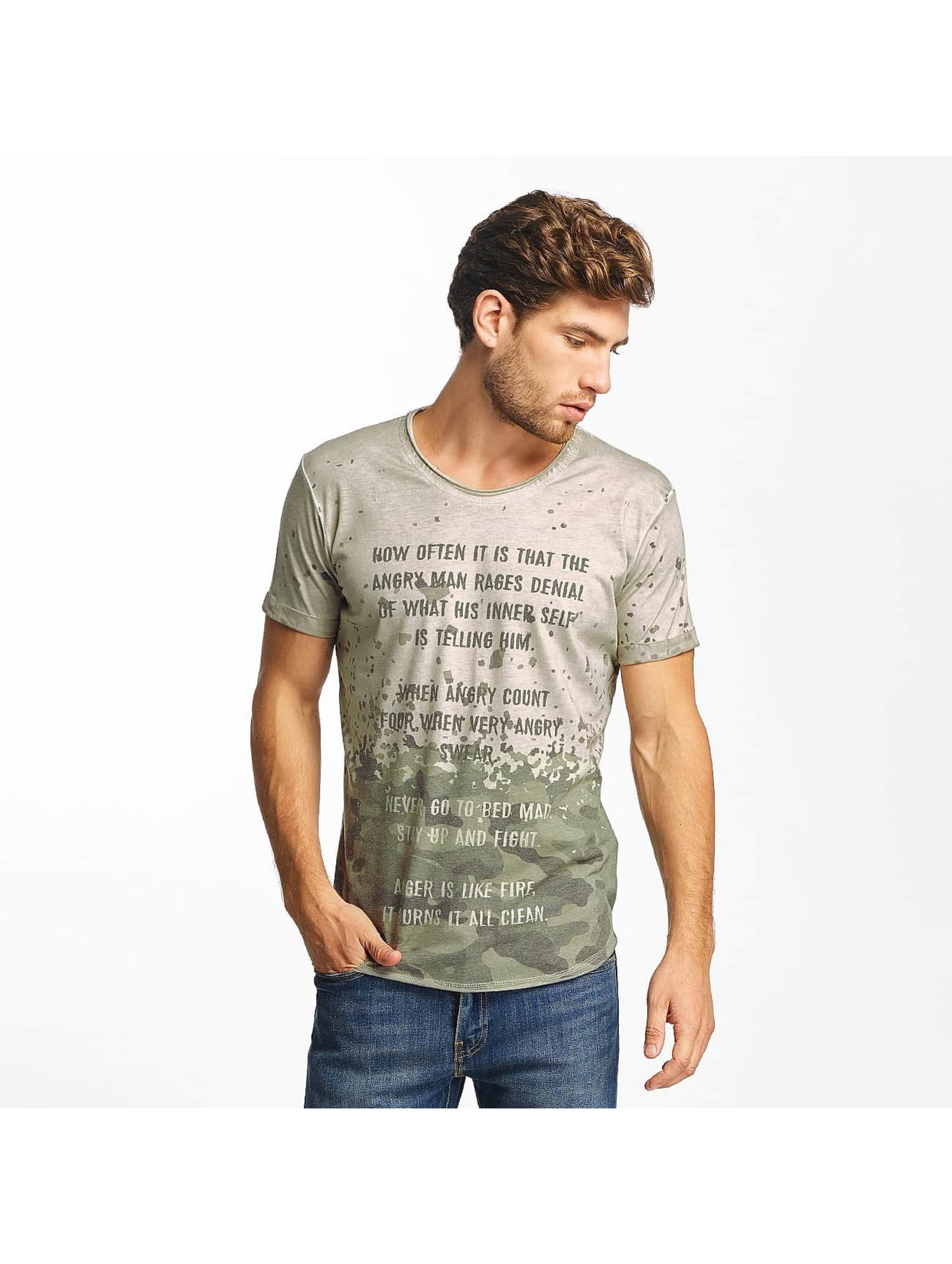 Red Bridge T-shirt Stay Up grigio