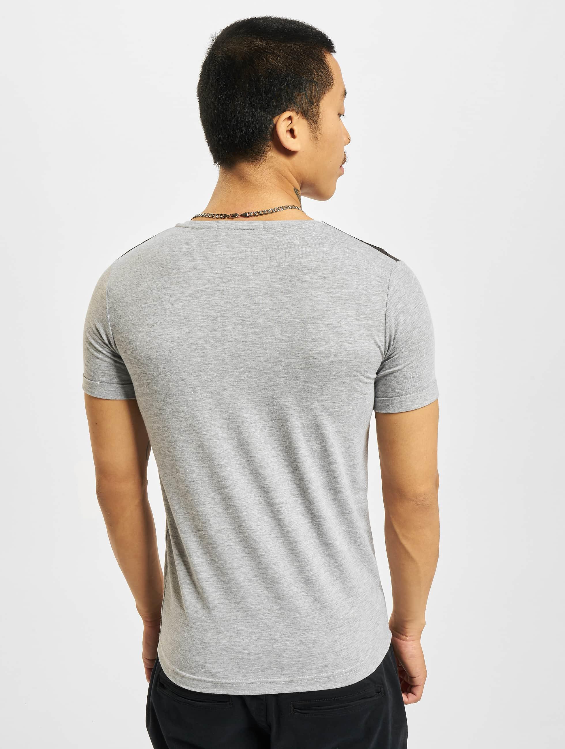 Red Bridge t-shirt Nelio grijs