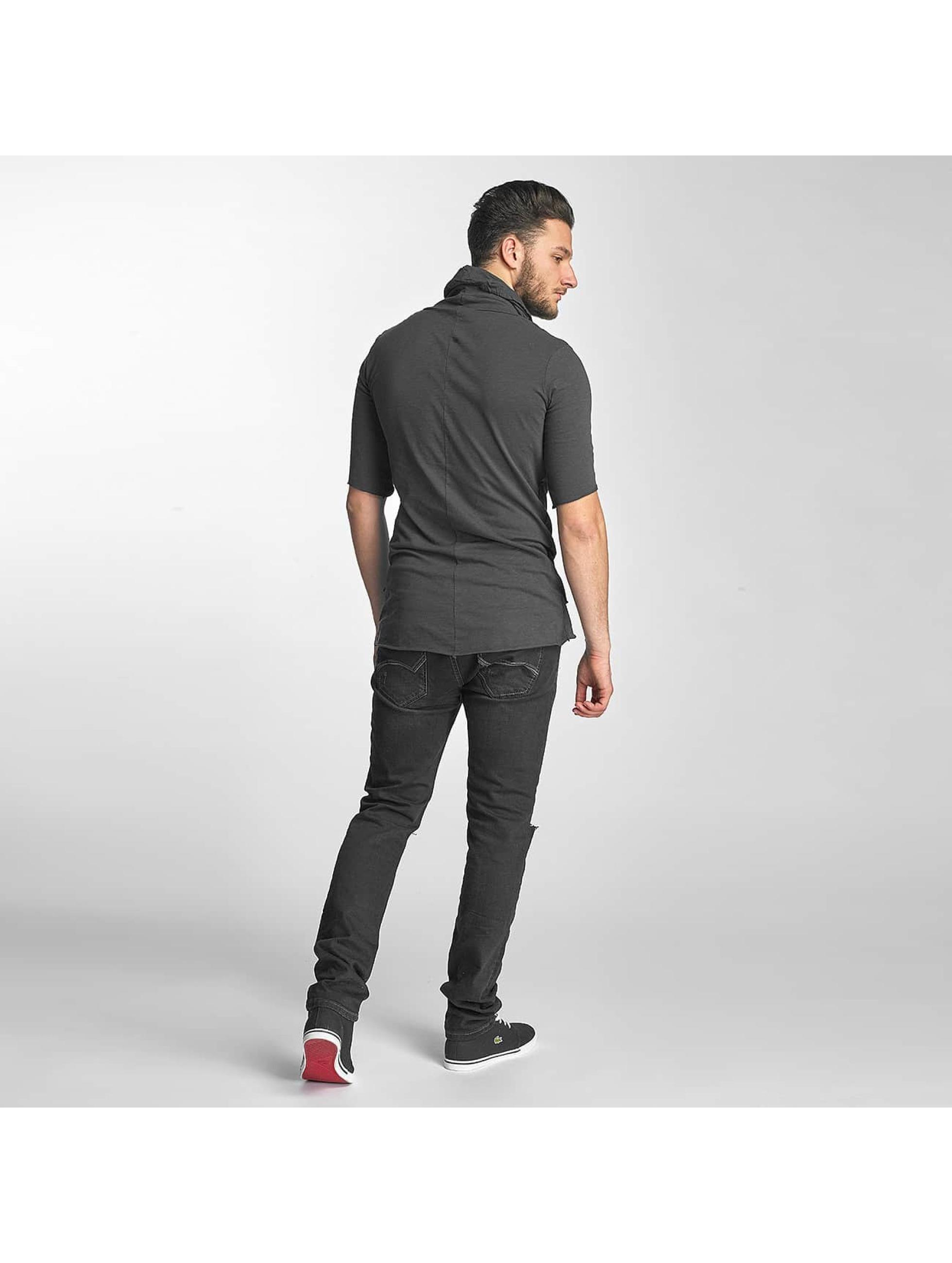 Red Bridge t-shirt Asymmetric grijs