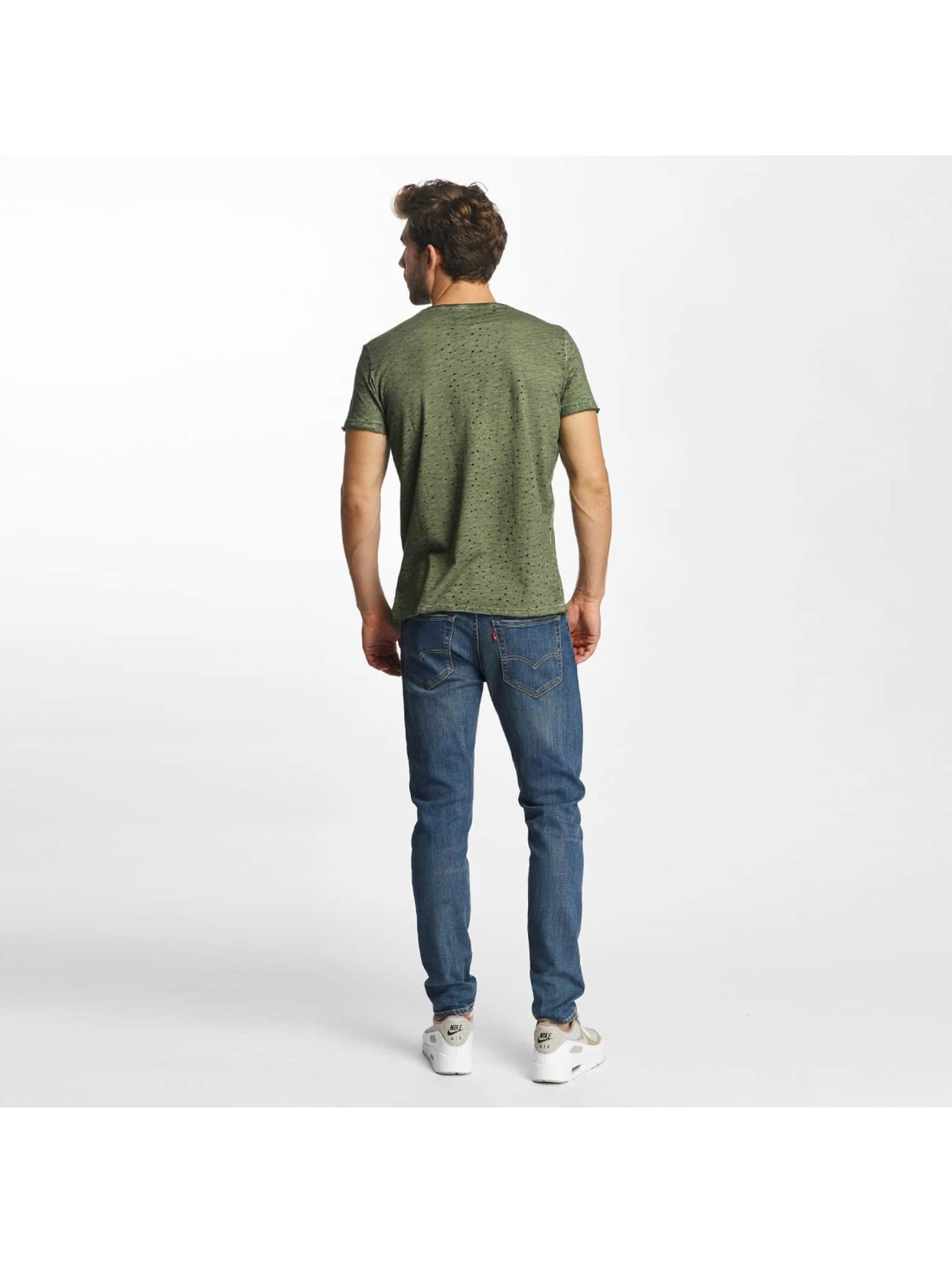Red Bridge T-Shirt Airy Function khaki