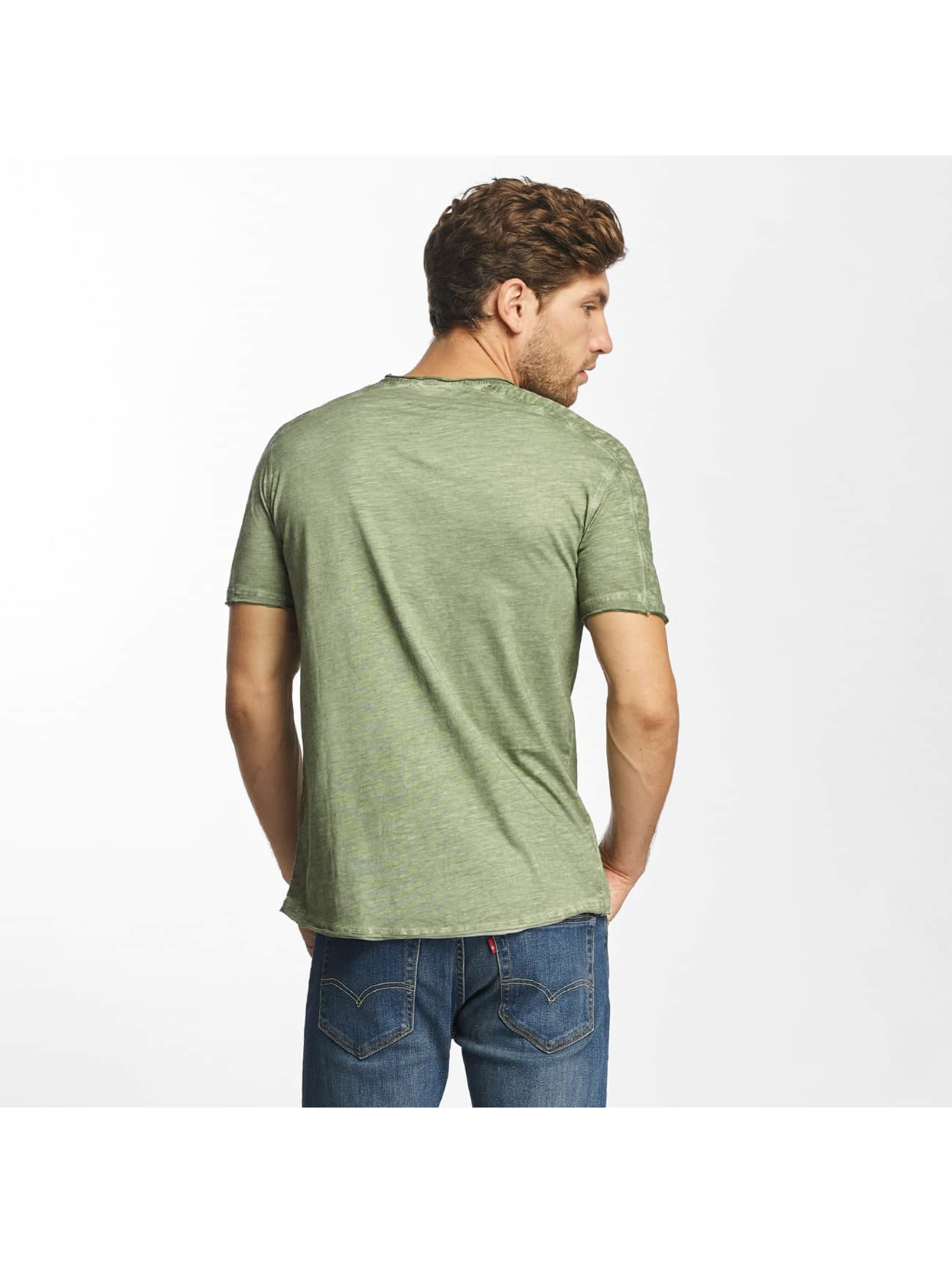 Red Bridge T-Shirt Vintage Seam khaki