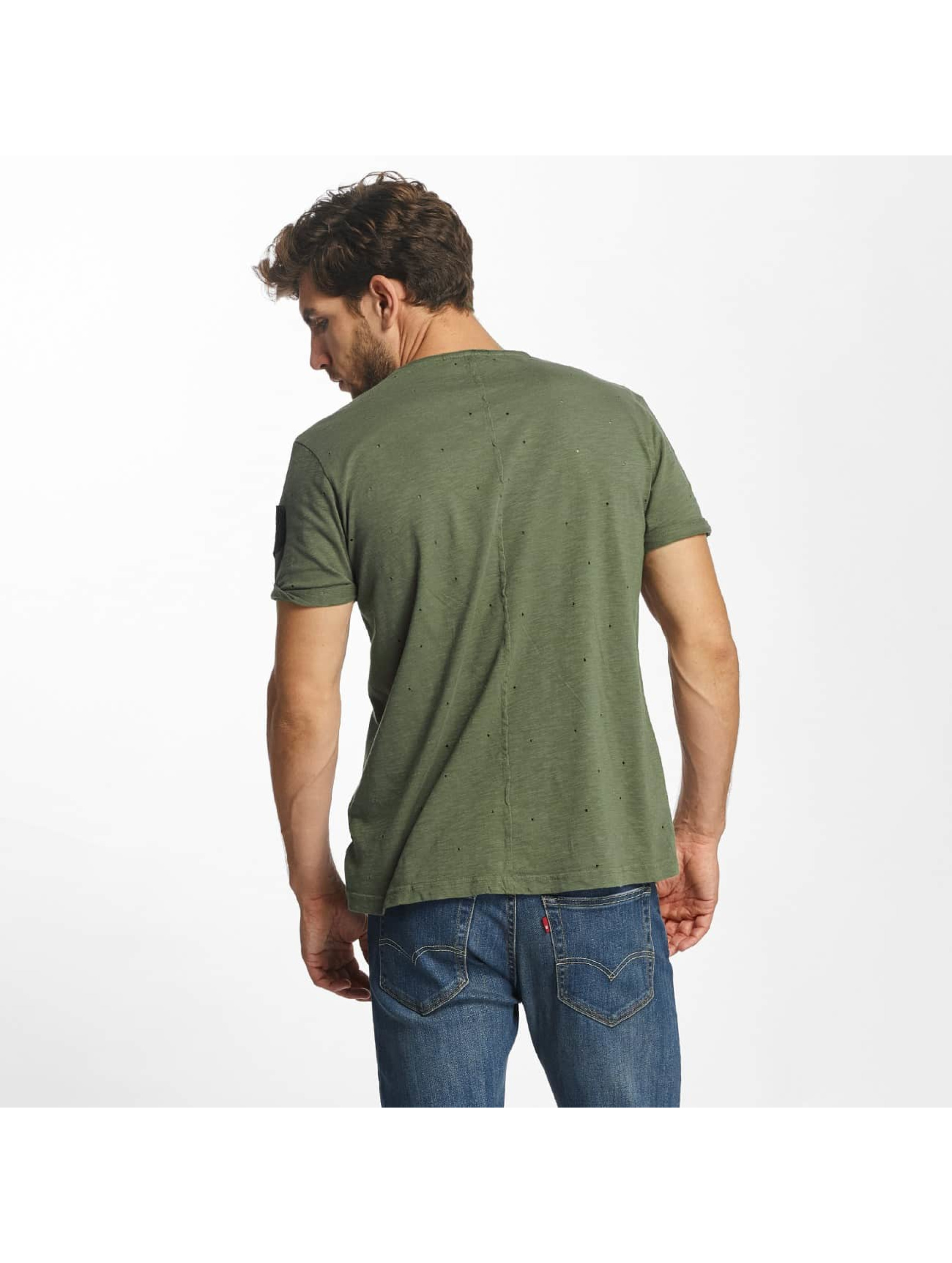 Red Bridge t-shirt Bullet Holes khaki