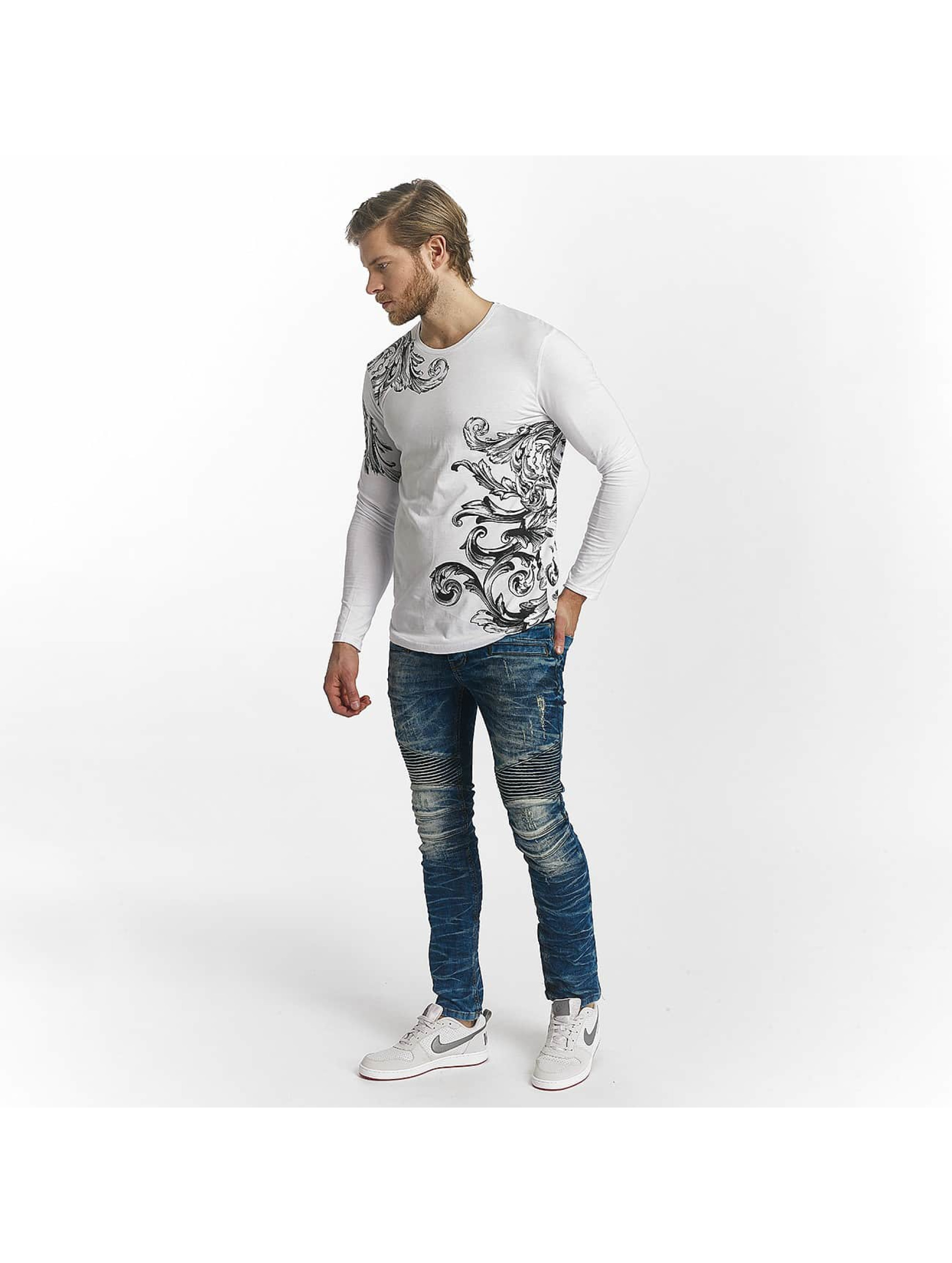 Red Bridge T-Shirt manches longues Relaxing Floral blanc