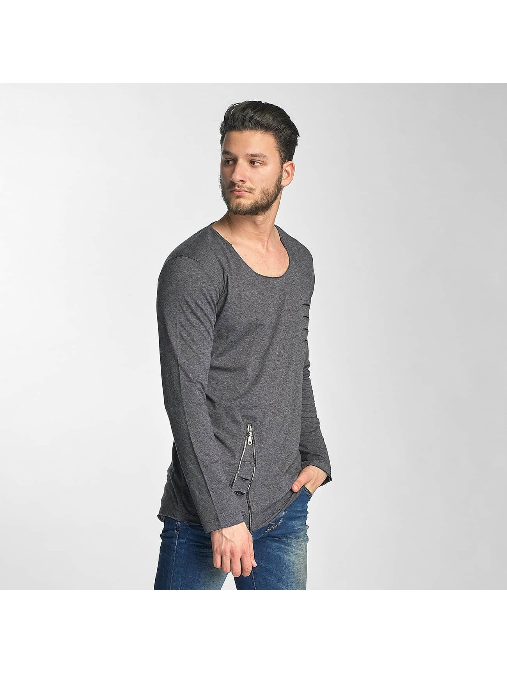 Red Bridge T-Shirt manches longues Trick gris
