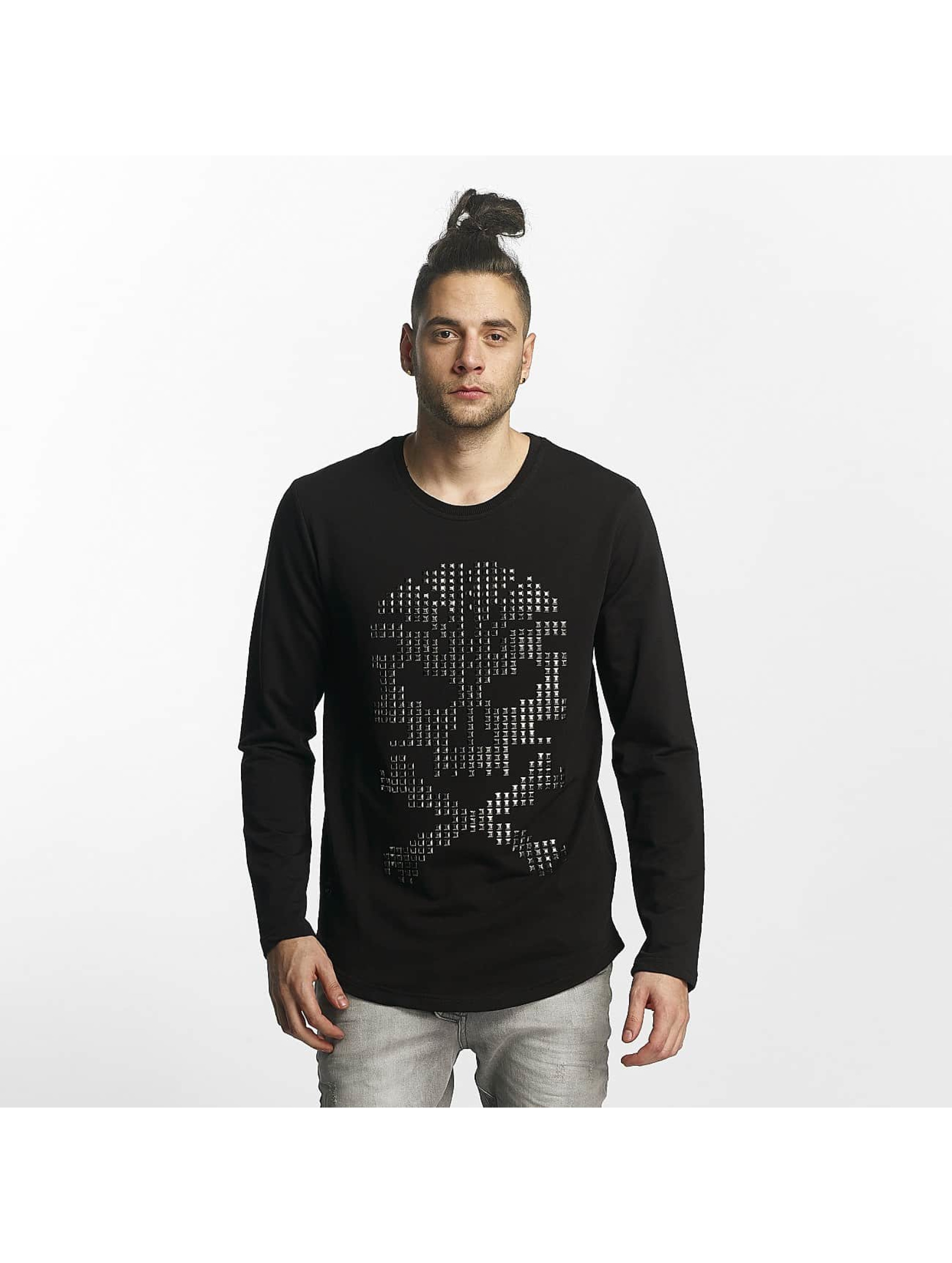 Red Bridge T-Shirt manches longues Skull noir