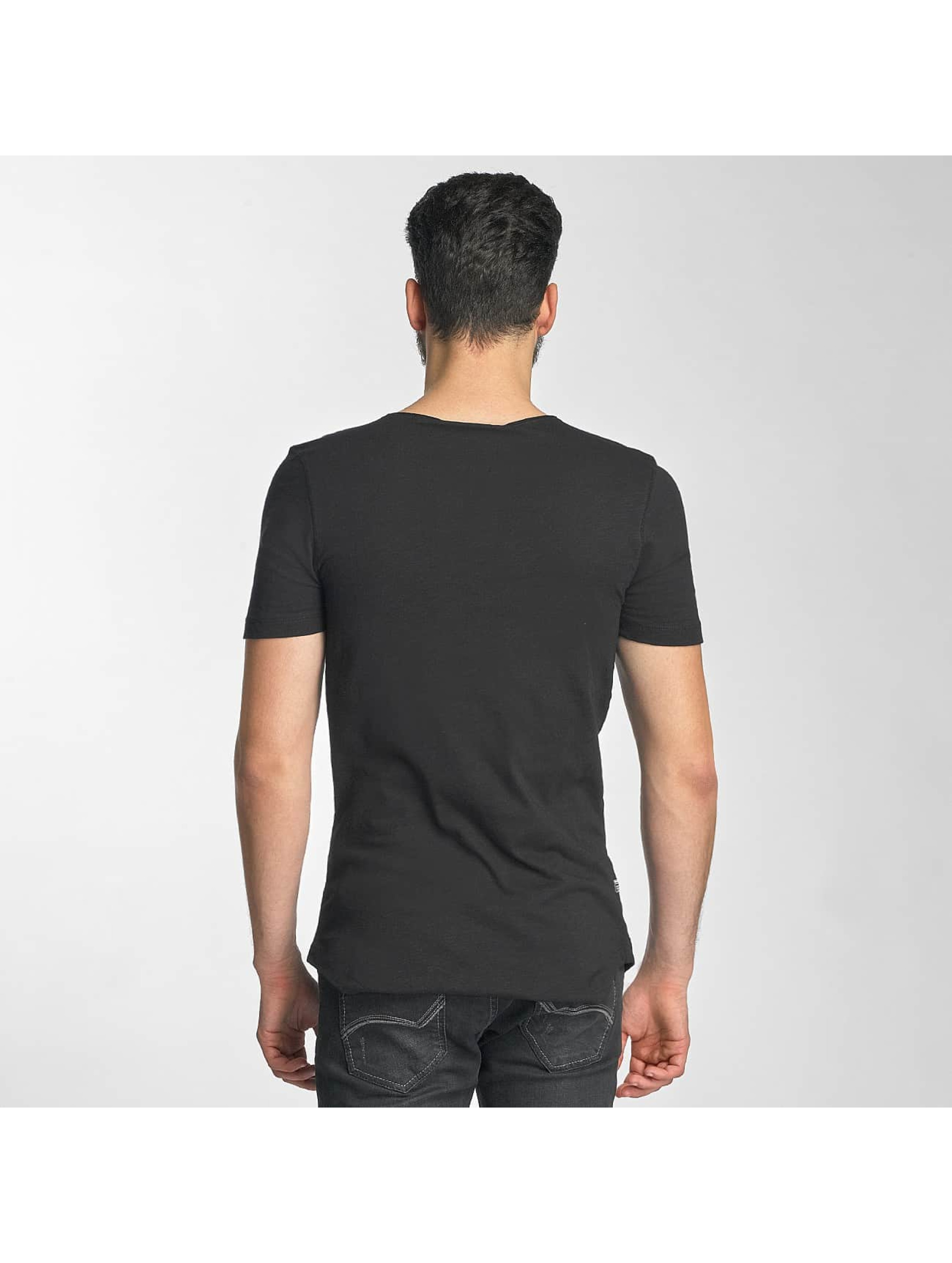 Red Bridge T-Shirt Leather Rivets noir
