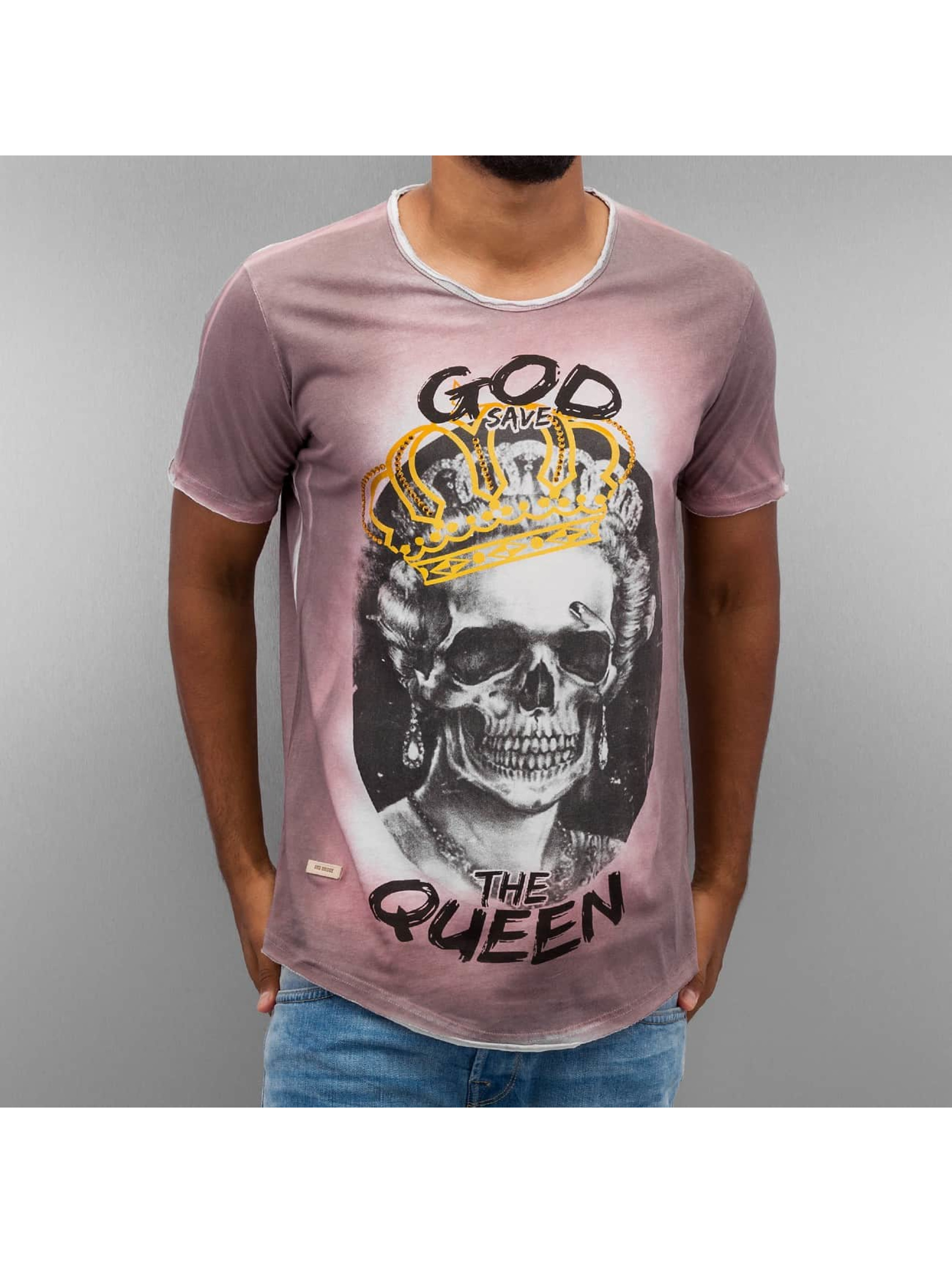 Red Bridge T-Shirt God Save The Queen rouge