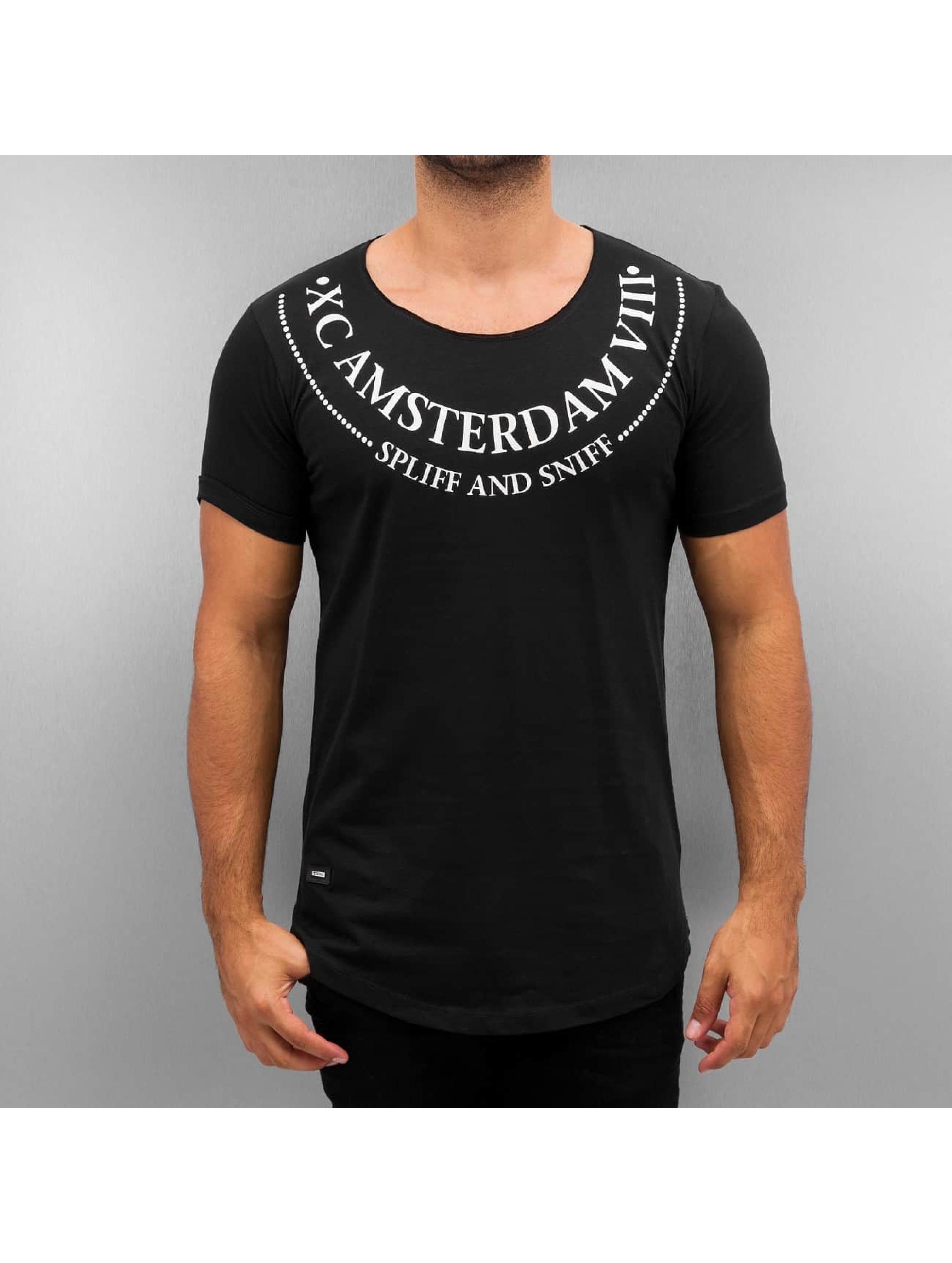 Red Bridge T-Shirt Amsterdam schwarz