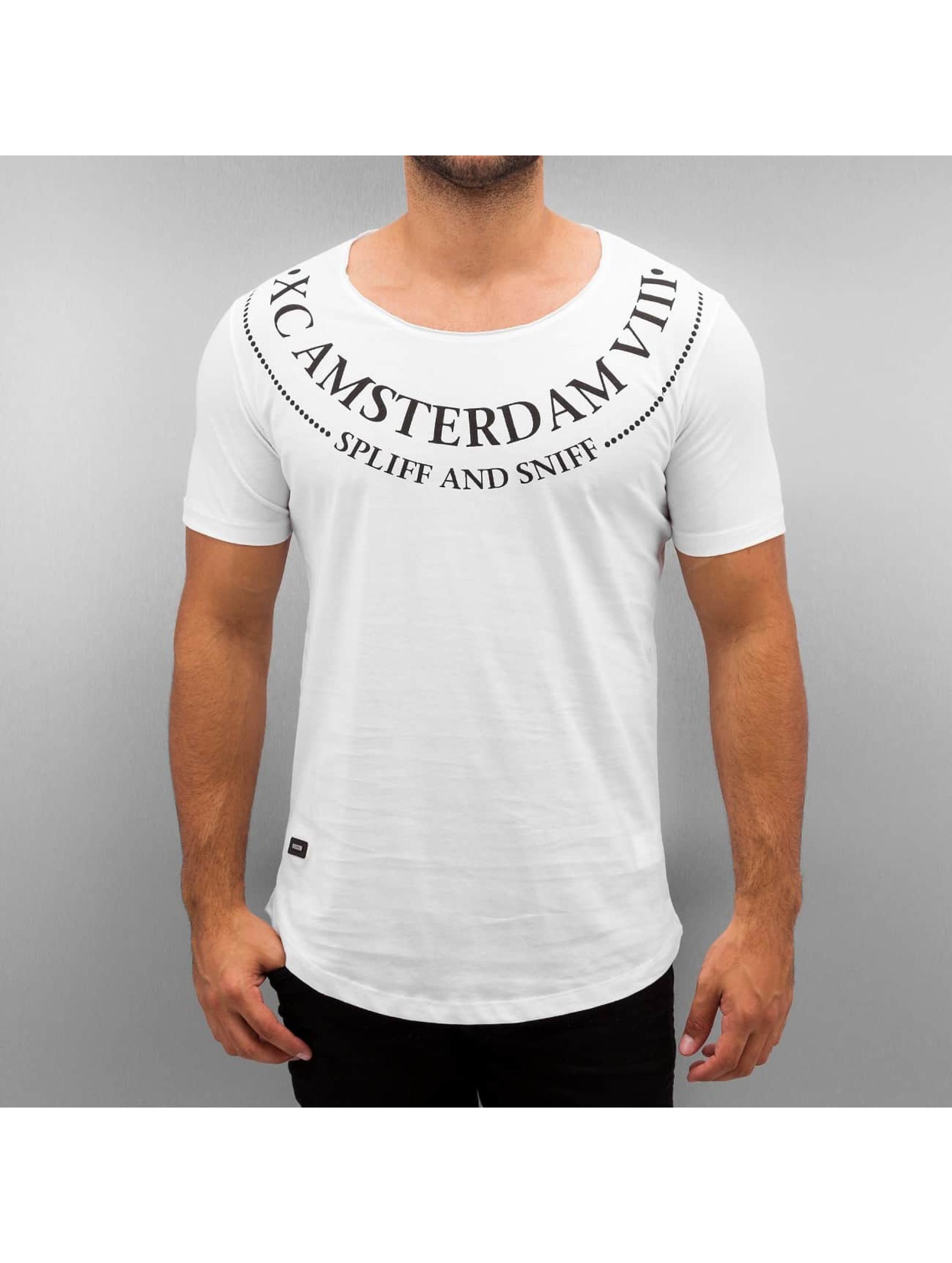 Red Bridge T-Shirt Amsterdam weiß