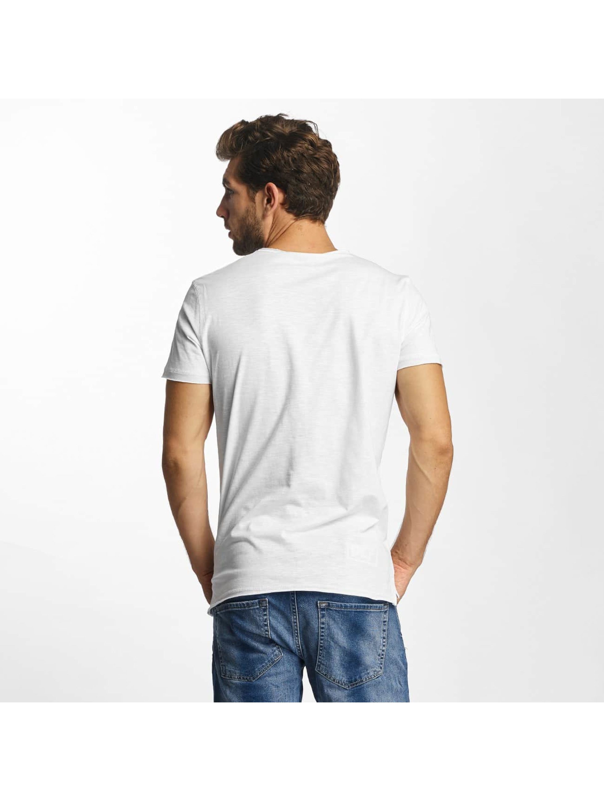 Red Bridge T-Shirt From Good To Bad white