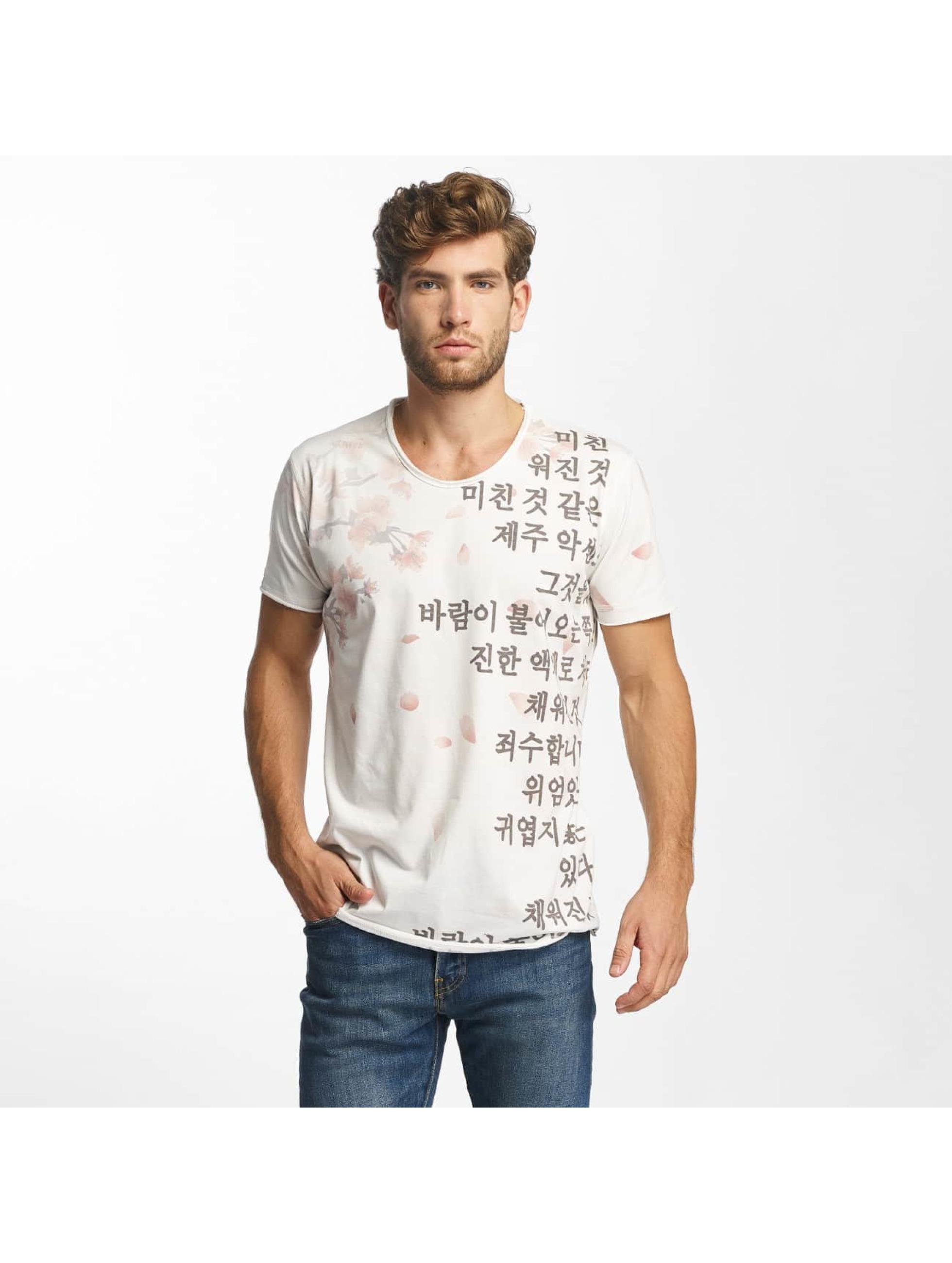 Red Bridge T-Shirt Cherry Blossom white