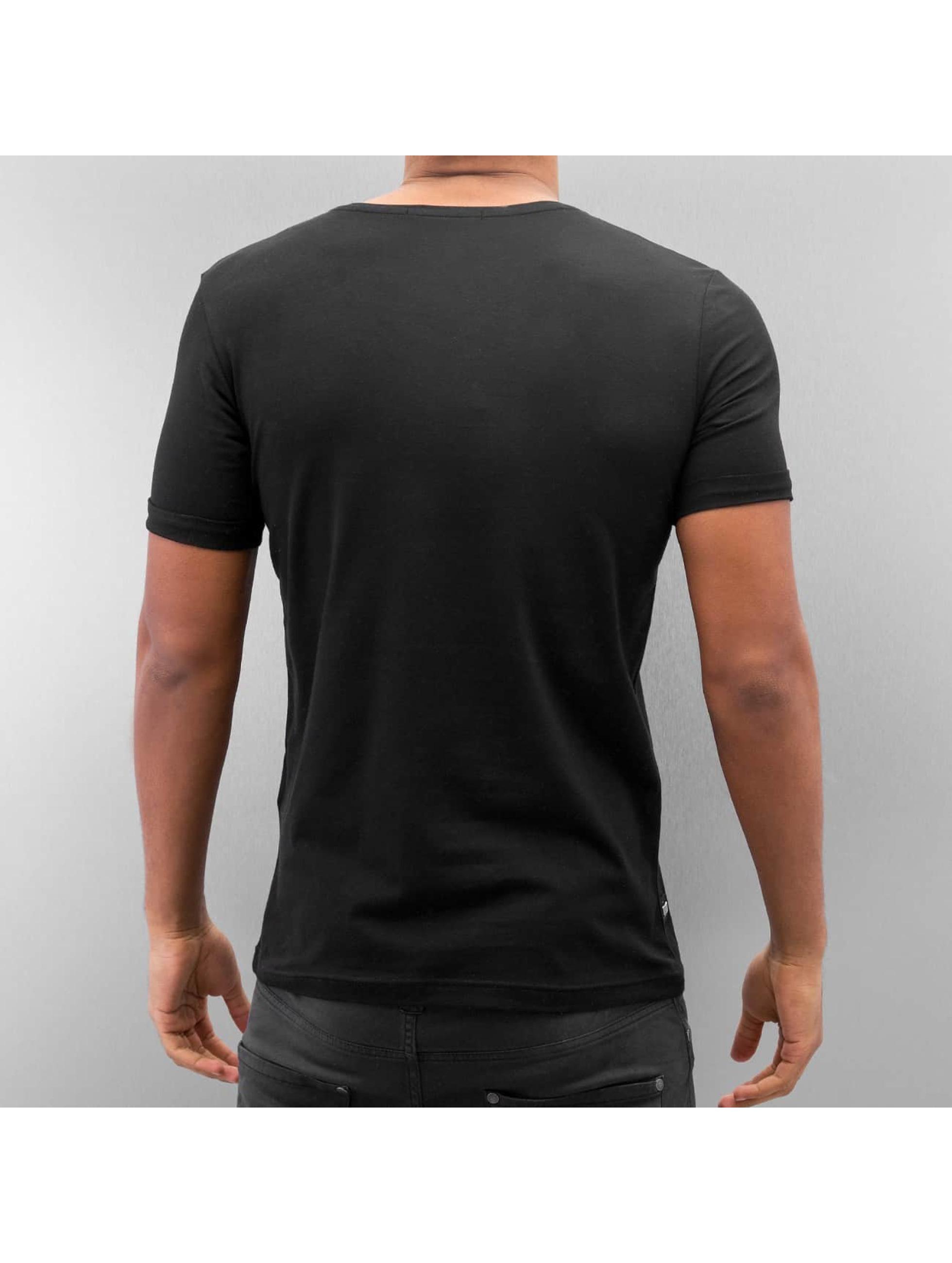 Red Bridge t-shirt Nelio zwart