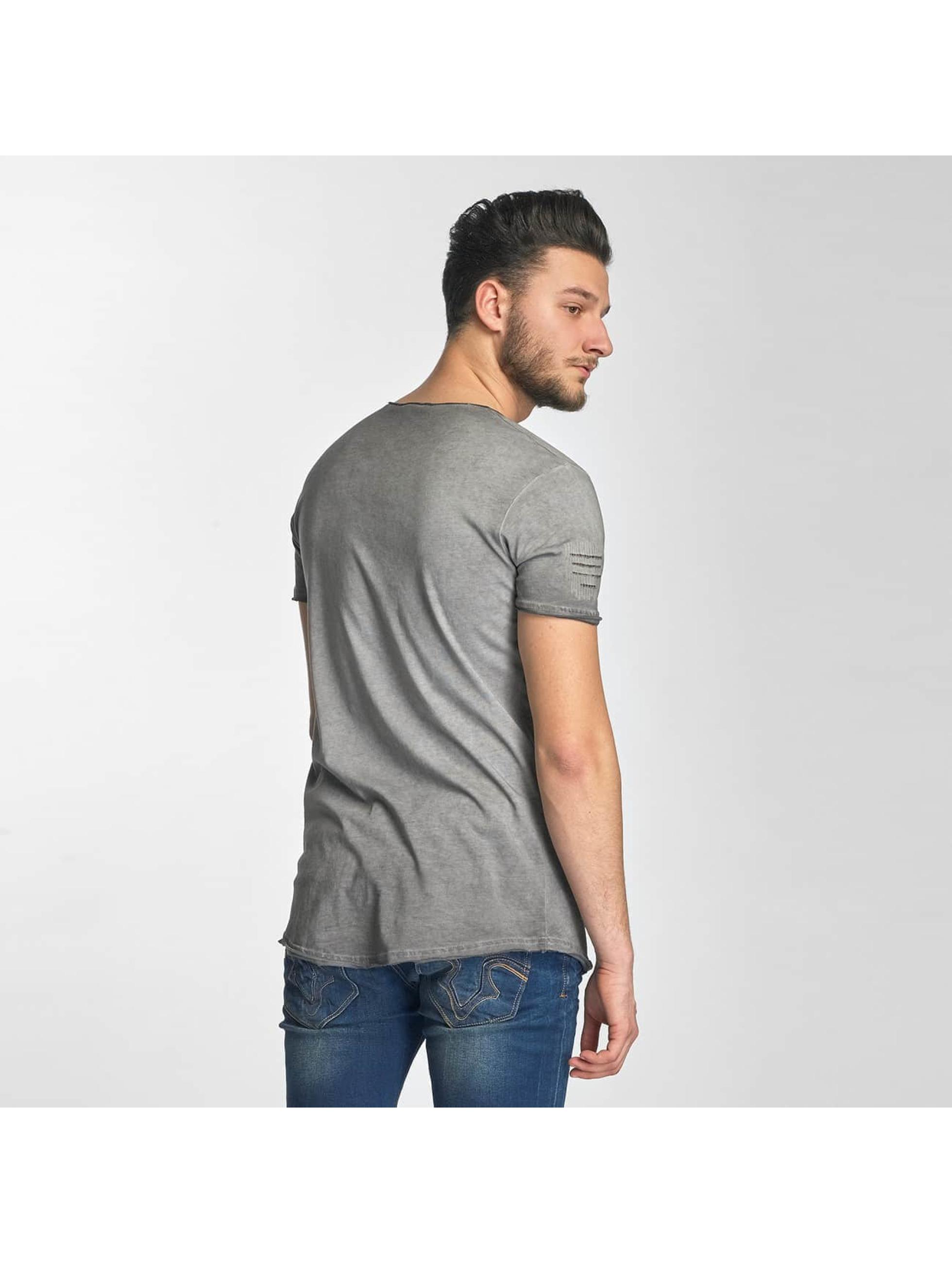 Red Bridge T-shirts Stitched Seam grå