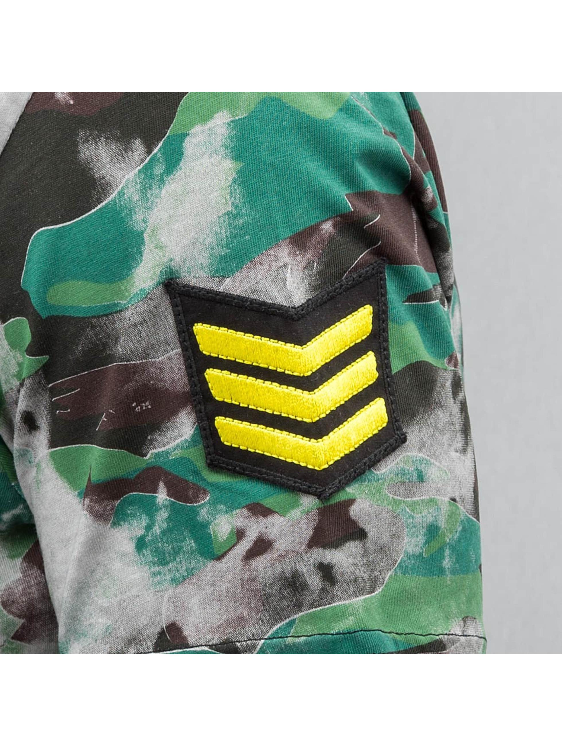 Red Bridge T-Shirty Combat zielony