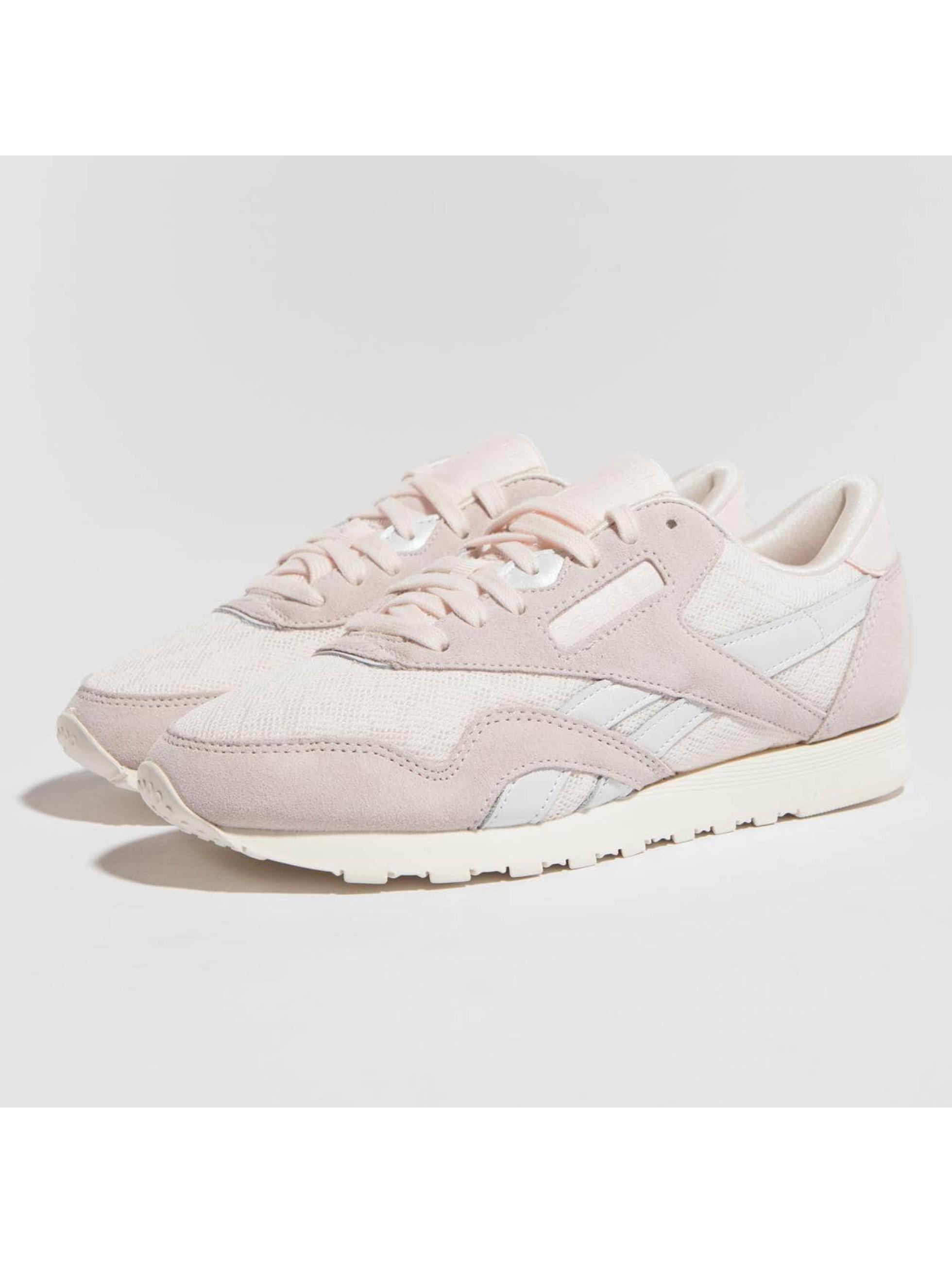 Reebok Сникеры Classic Nylon розовый