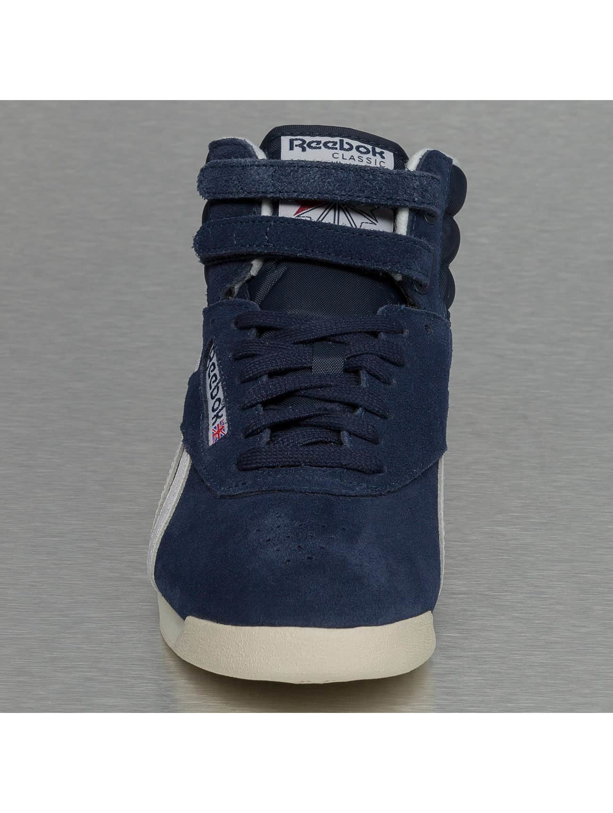 Reebok Сникеры Freestyle HI синий