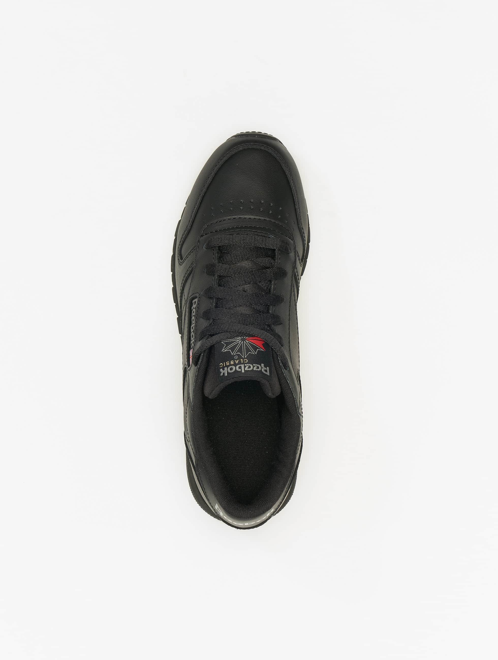 Reebok Сникеры CL Leather черный