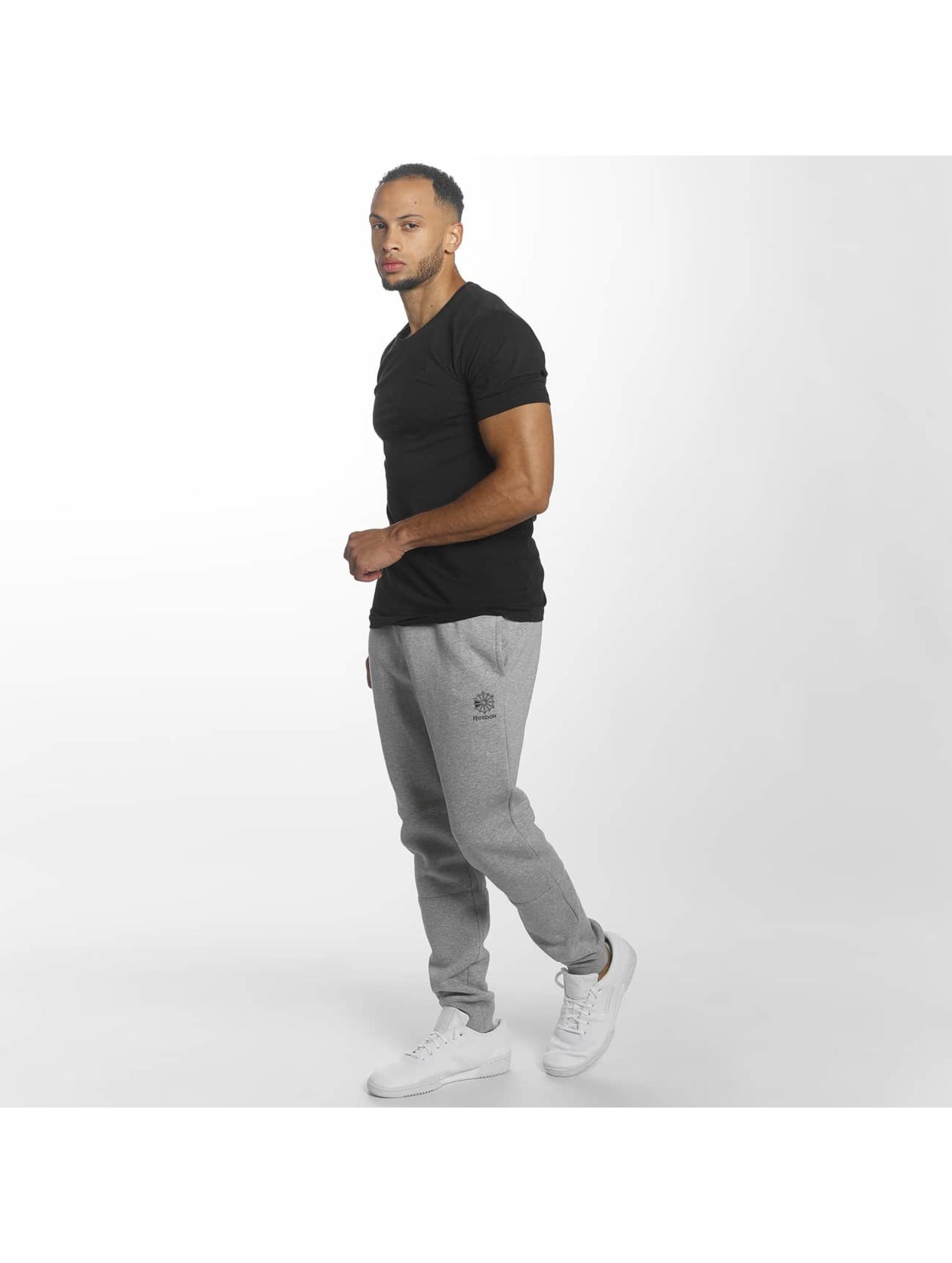 Reebok Спортивные брюки F Franchise Fleece серый