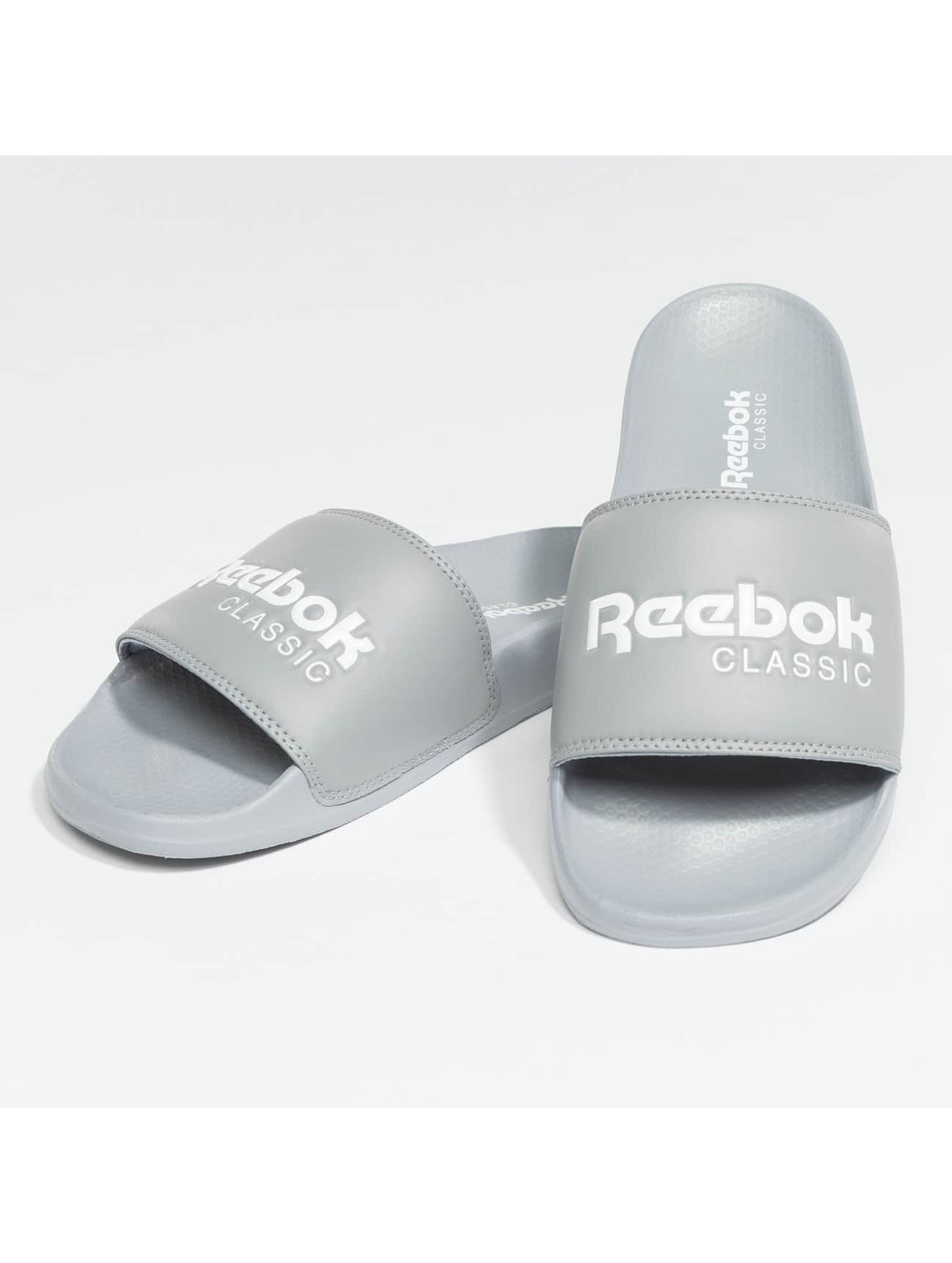 Reebok Шлёпанцы Classic Slide серый