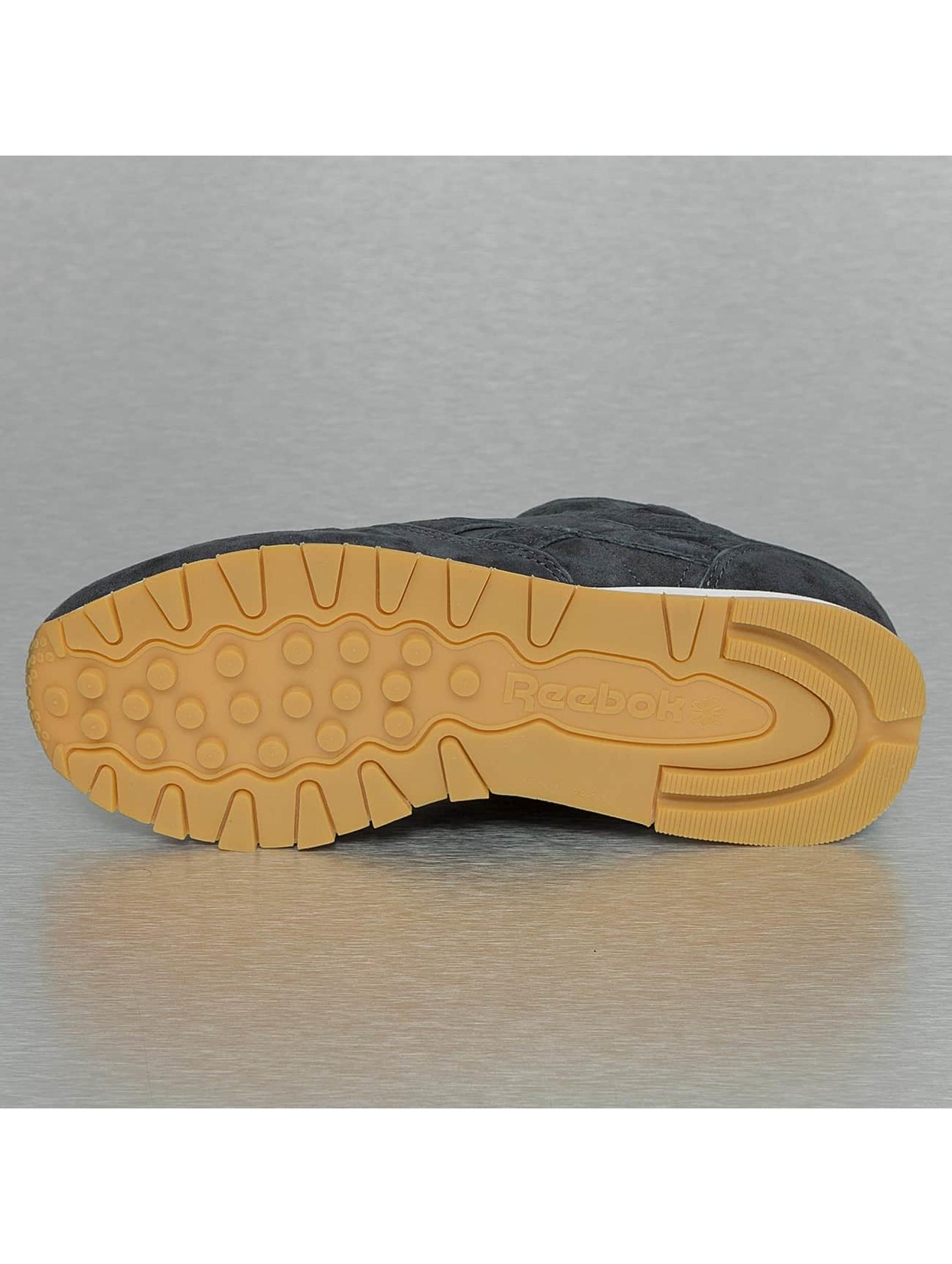 Reebok Baskets Classic Leather bleu