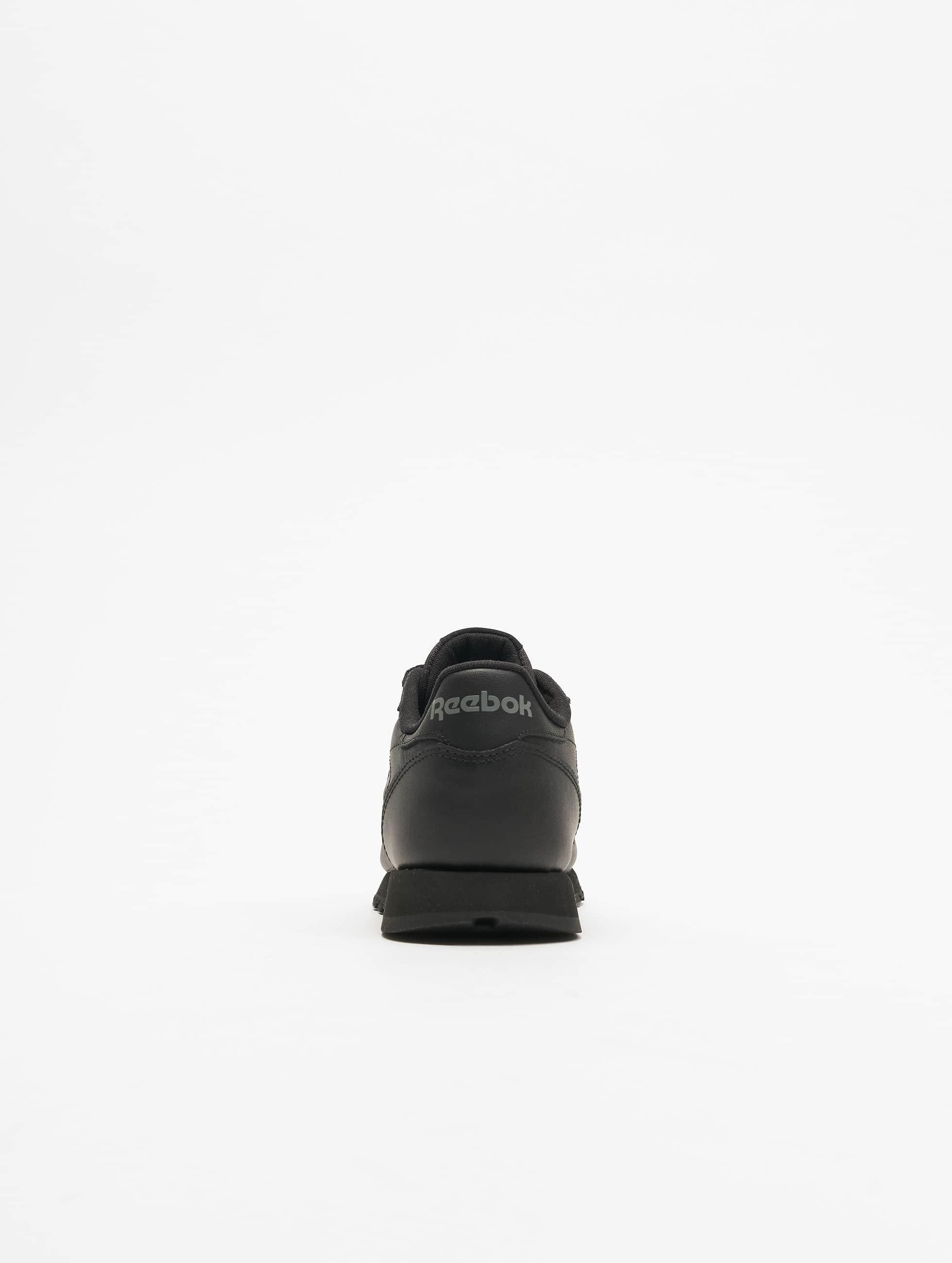 Reebok Baskets CL Leather noir