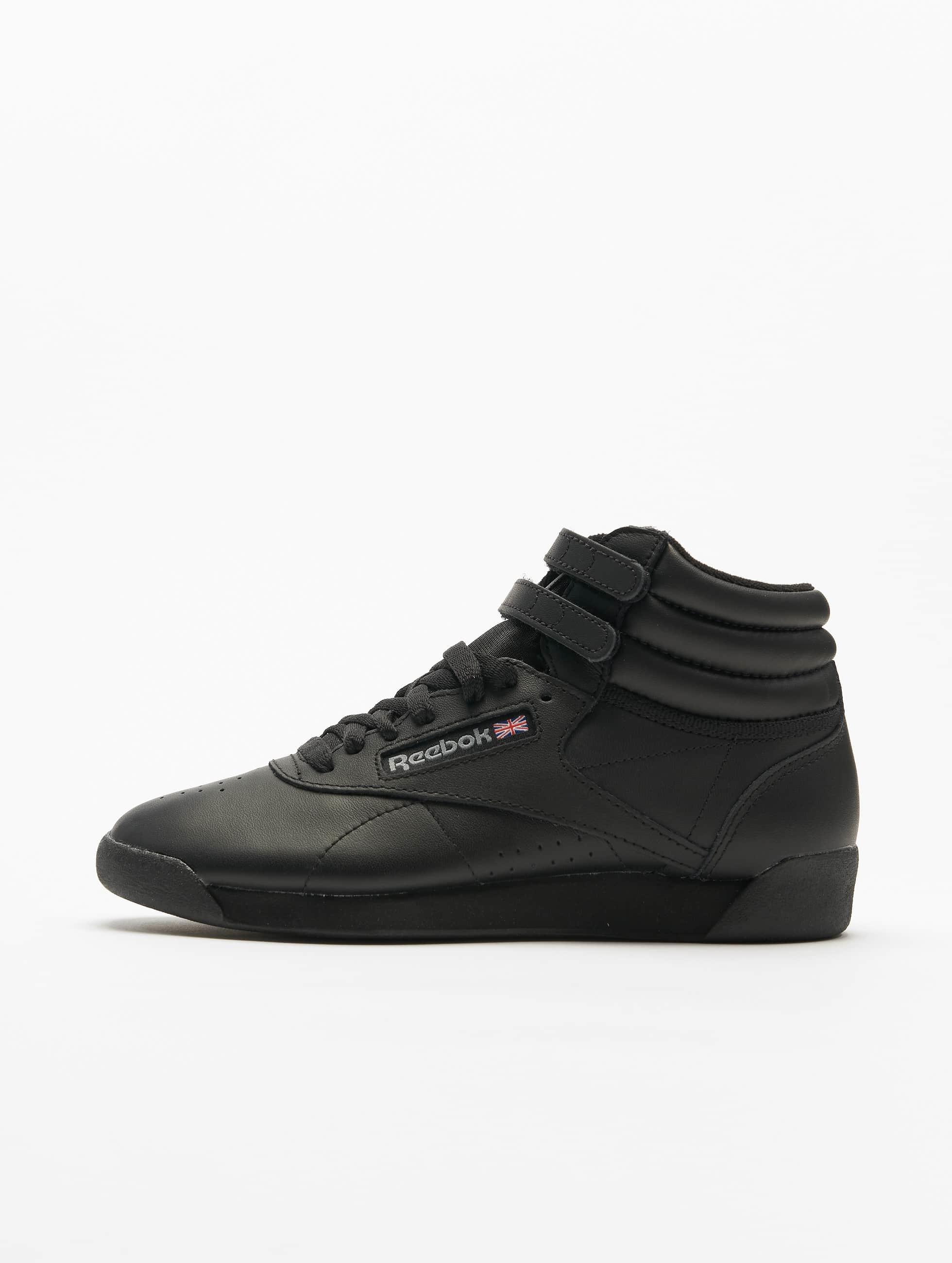 reebok freestyle hi basketball shoes noir femme baskets 4616. Black Bedroom Furniture Sets. Home Design Ideas
