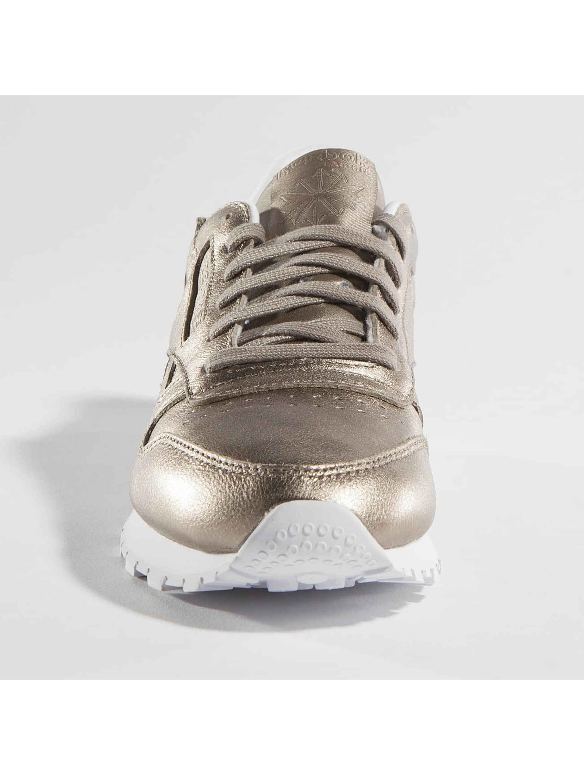 Reebok Baskets Classic Leather Melted Metallic Pearl or