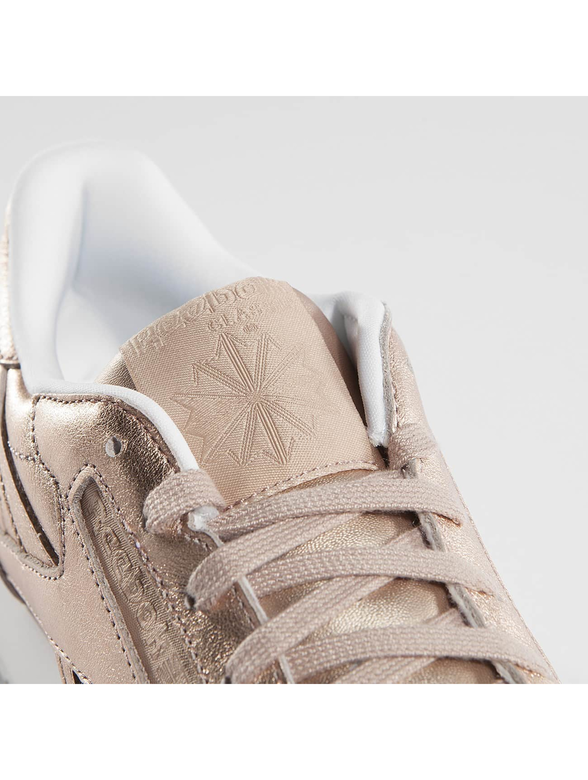 Reebok Baskets Classic Leather Melted Metallic Pearl rose