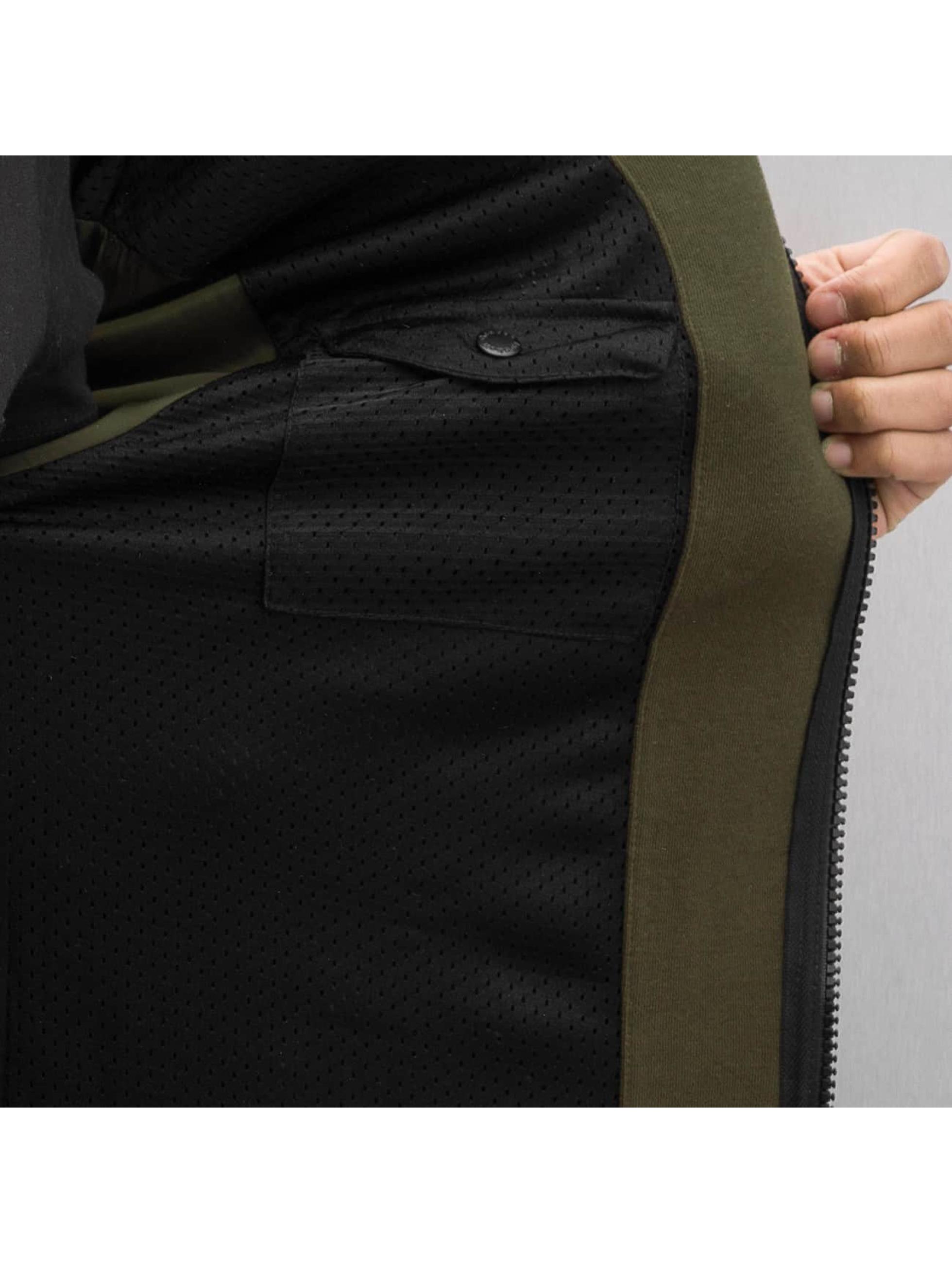 Reebok Bomberová bunda Fleece zelená