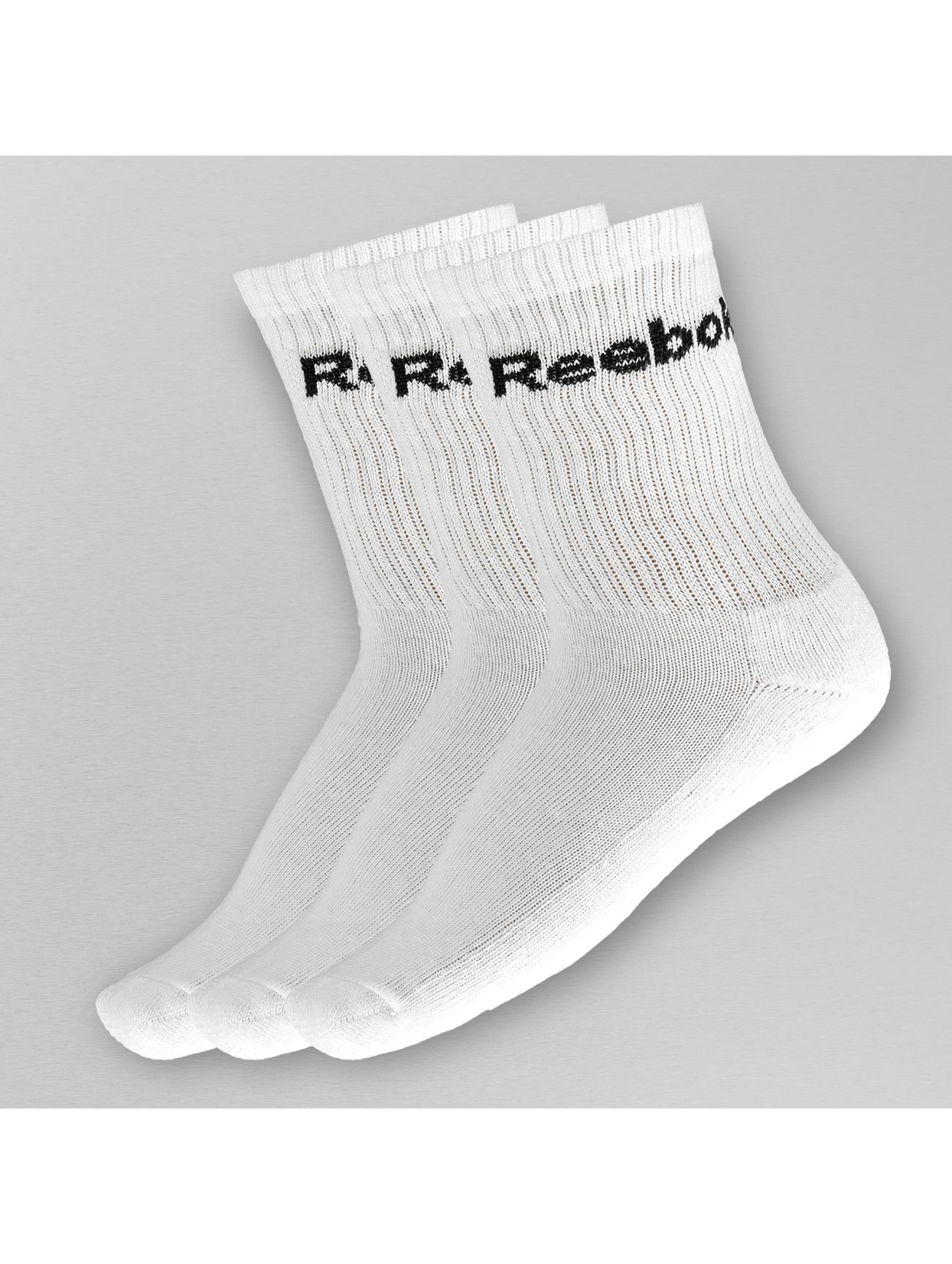 Reebok Chaussettes 3 for 2 Crew blanc