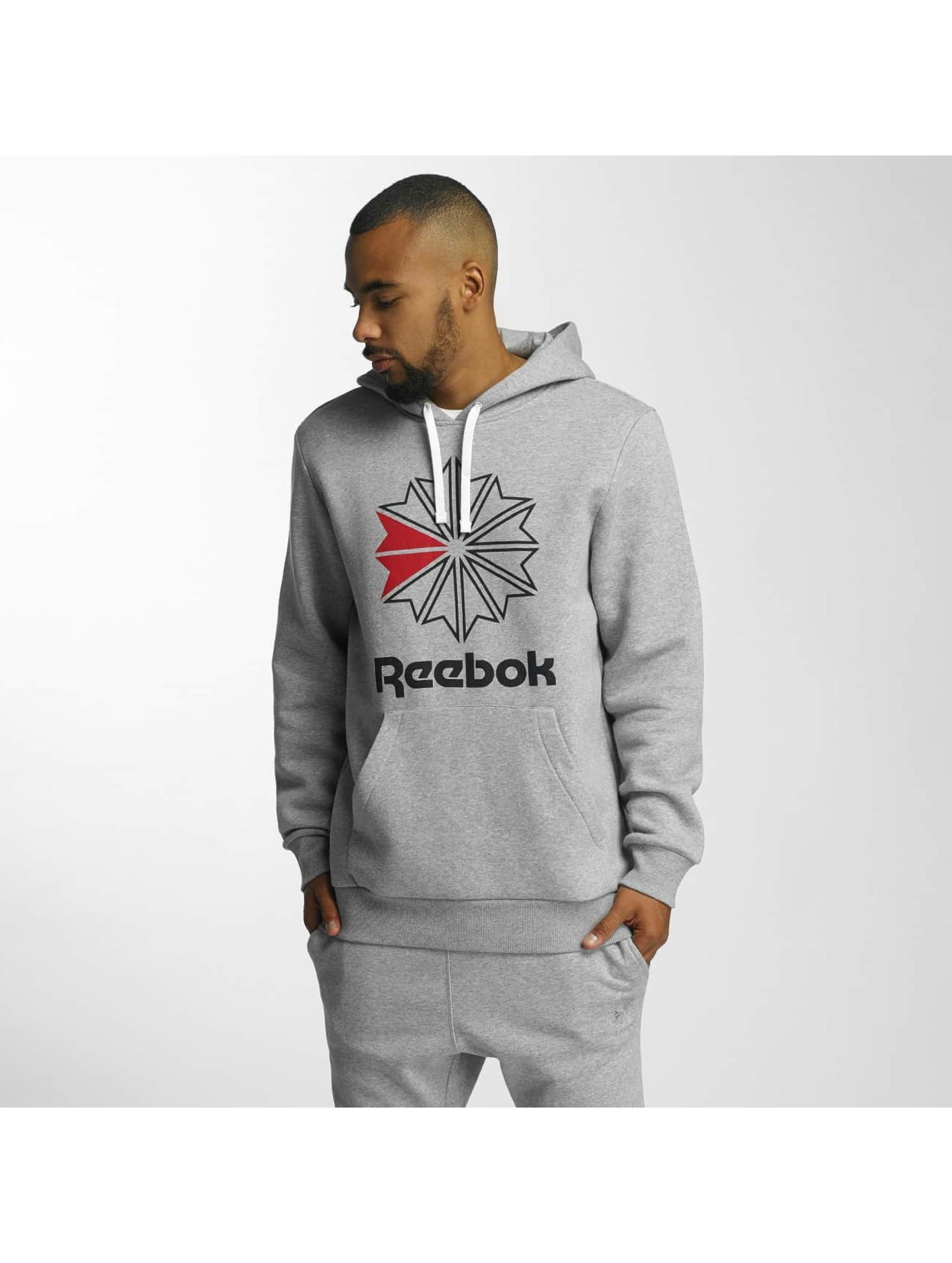 Reebok Hoodie F Star gray
