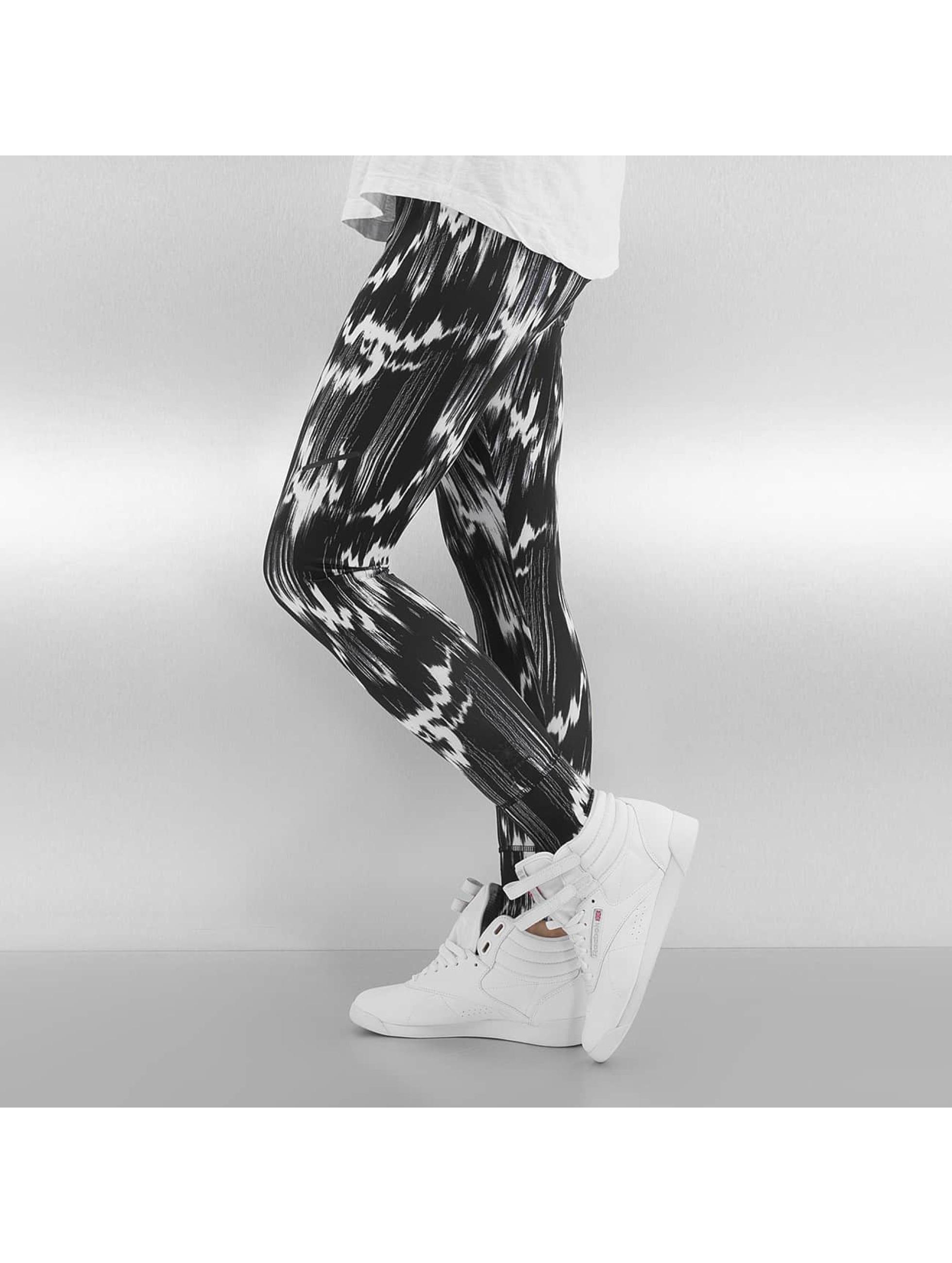 Reebok Legging R PES AOP schwarz