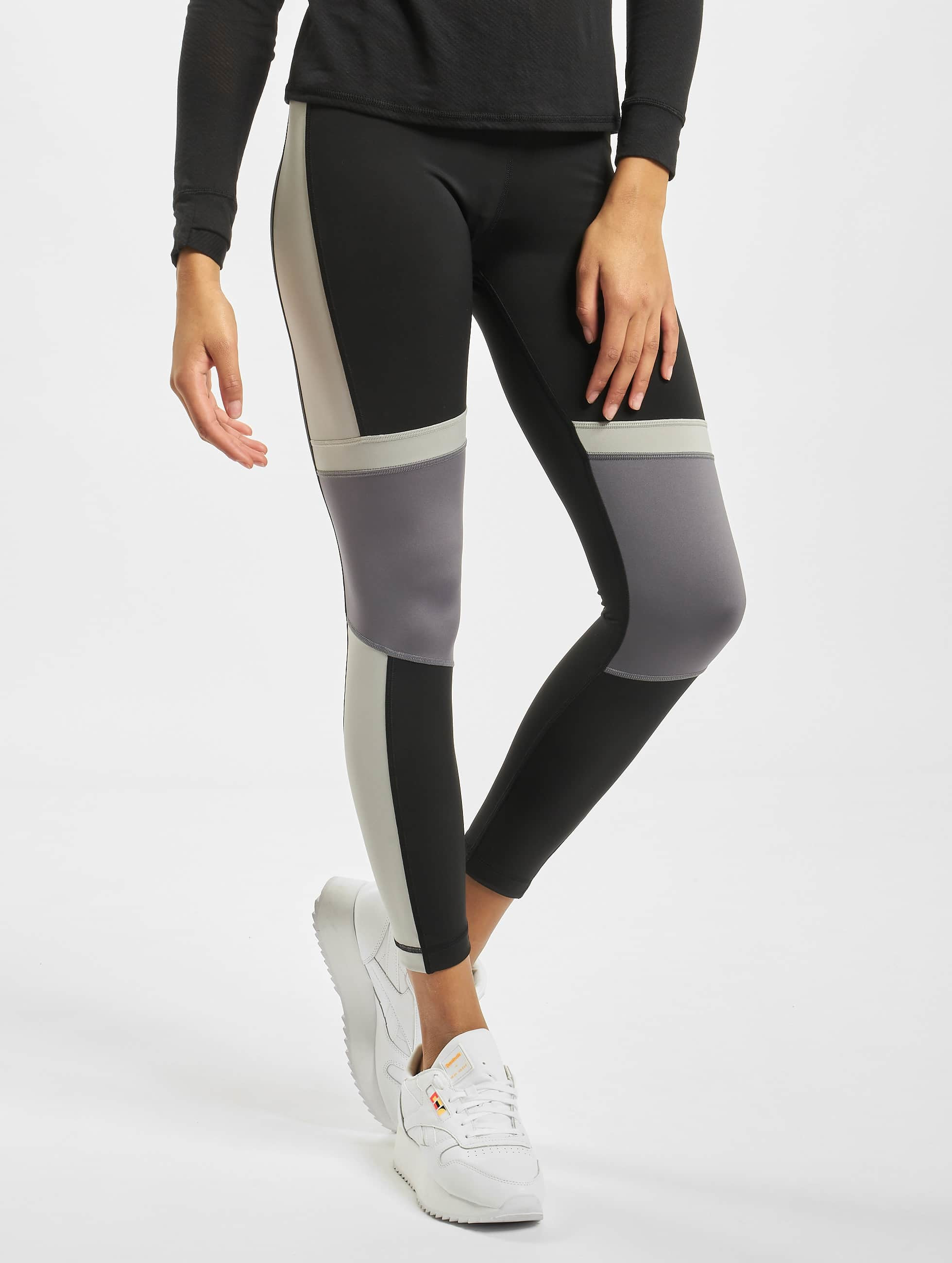 Reebok Workout MYT Paneled Poly Tights Black