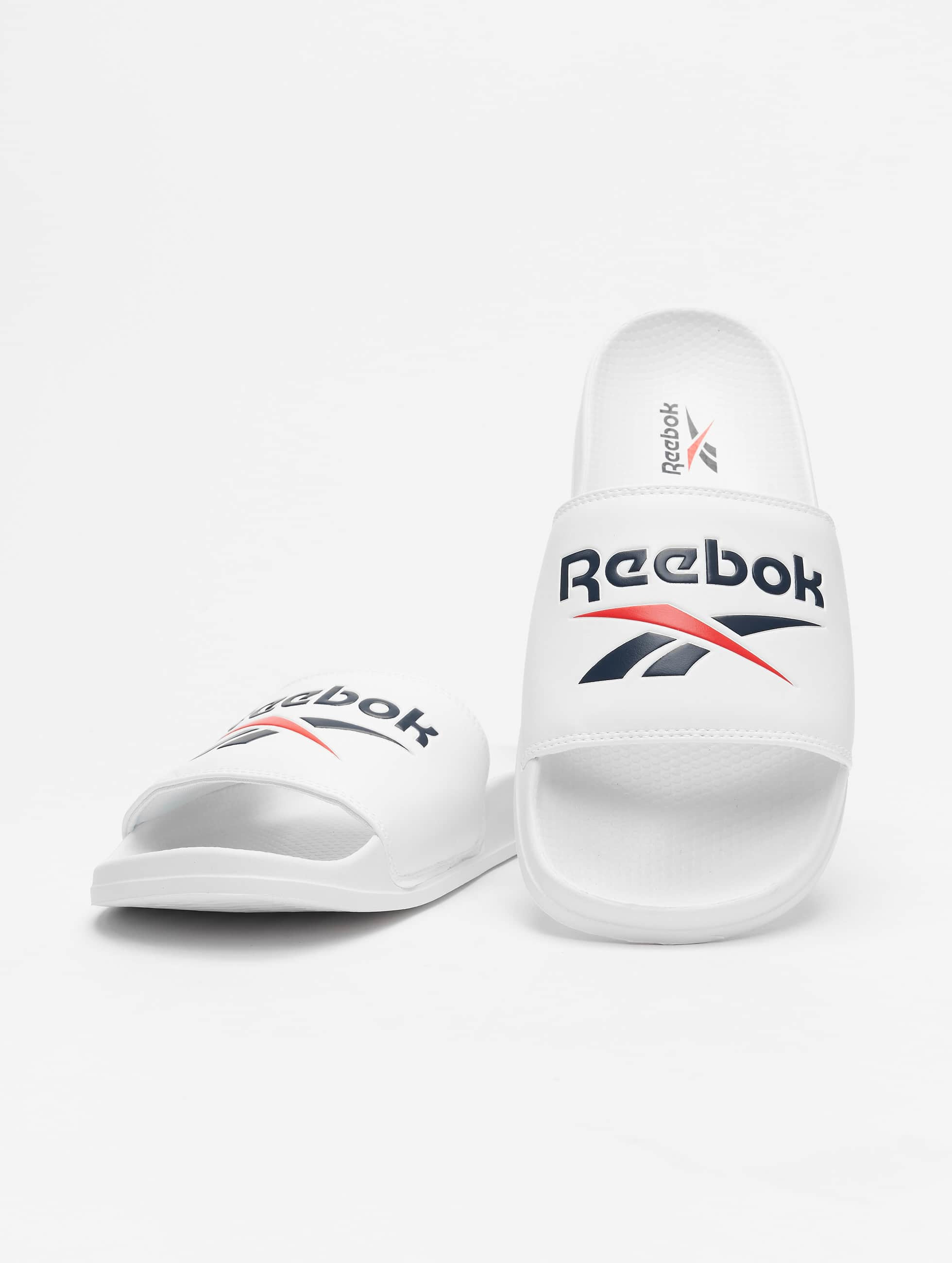 Reebok Classic Split Slides WhiteWhitBlack