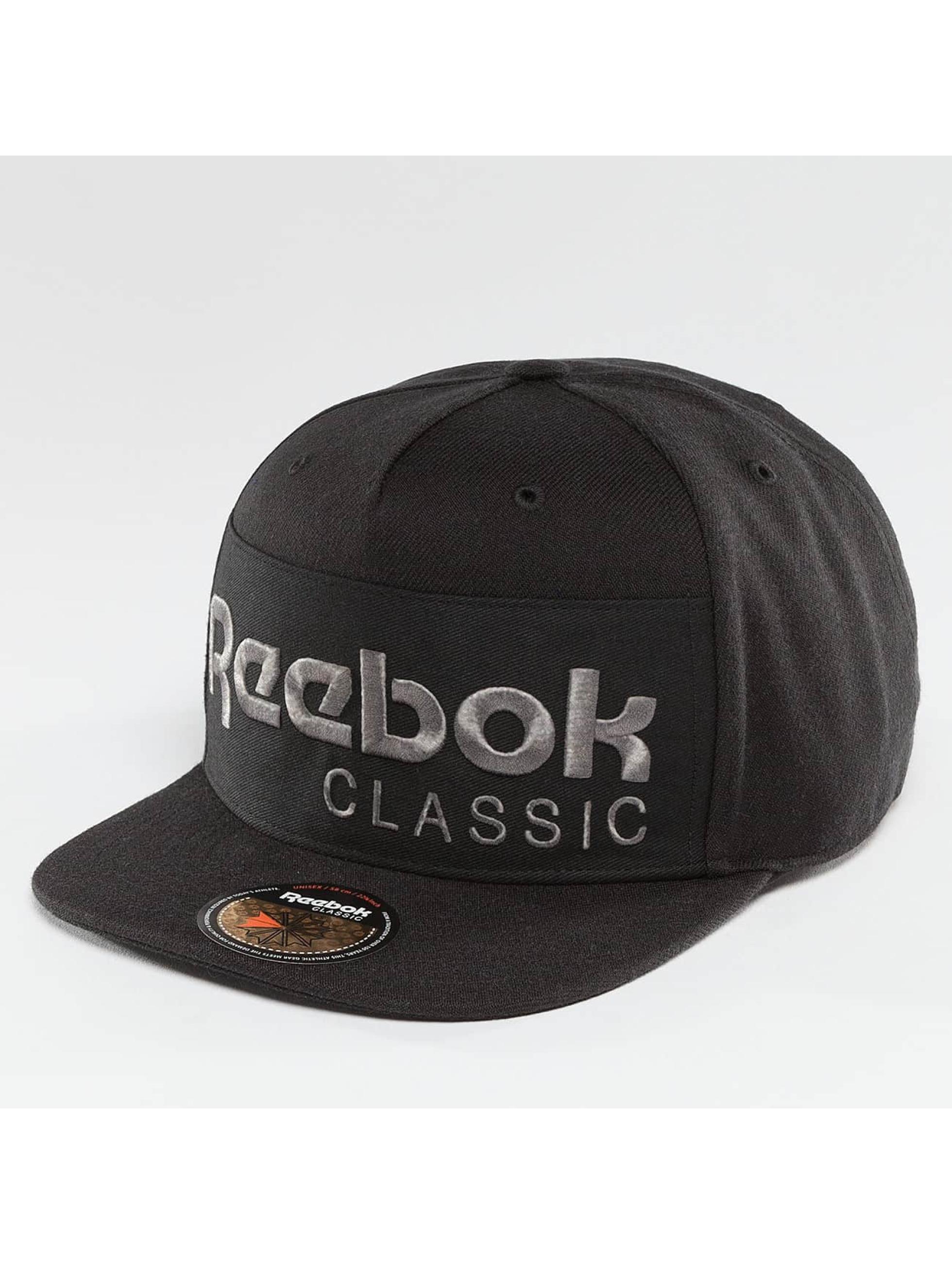 Snapback Cap Foundation in schwarz