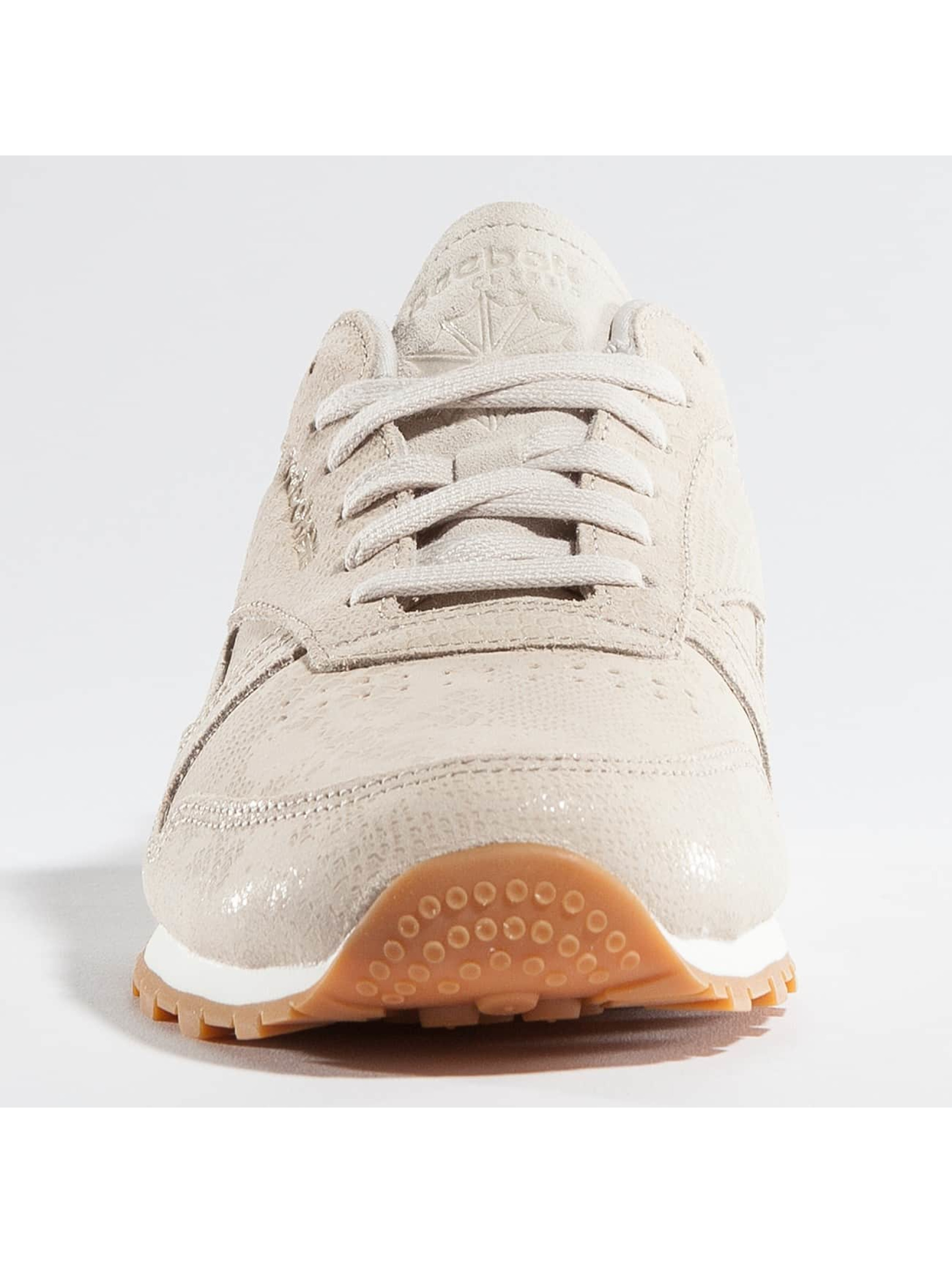 Reebok Sneaker Classic Leather Clean Exotics beige