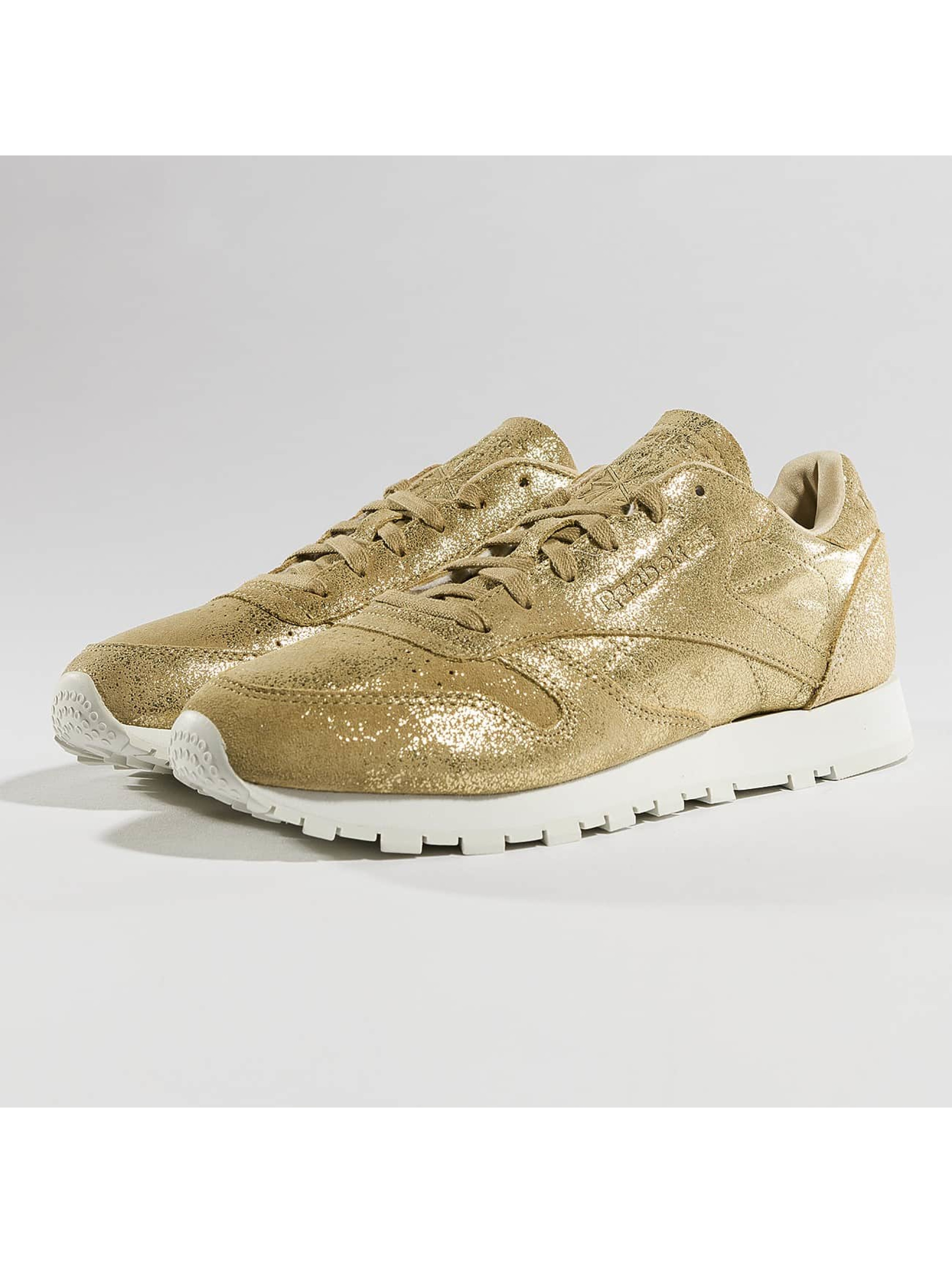 Reebok Sneaker Classic Leather Shimmer goldfarben